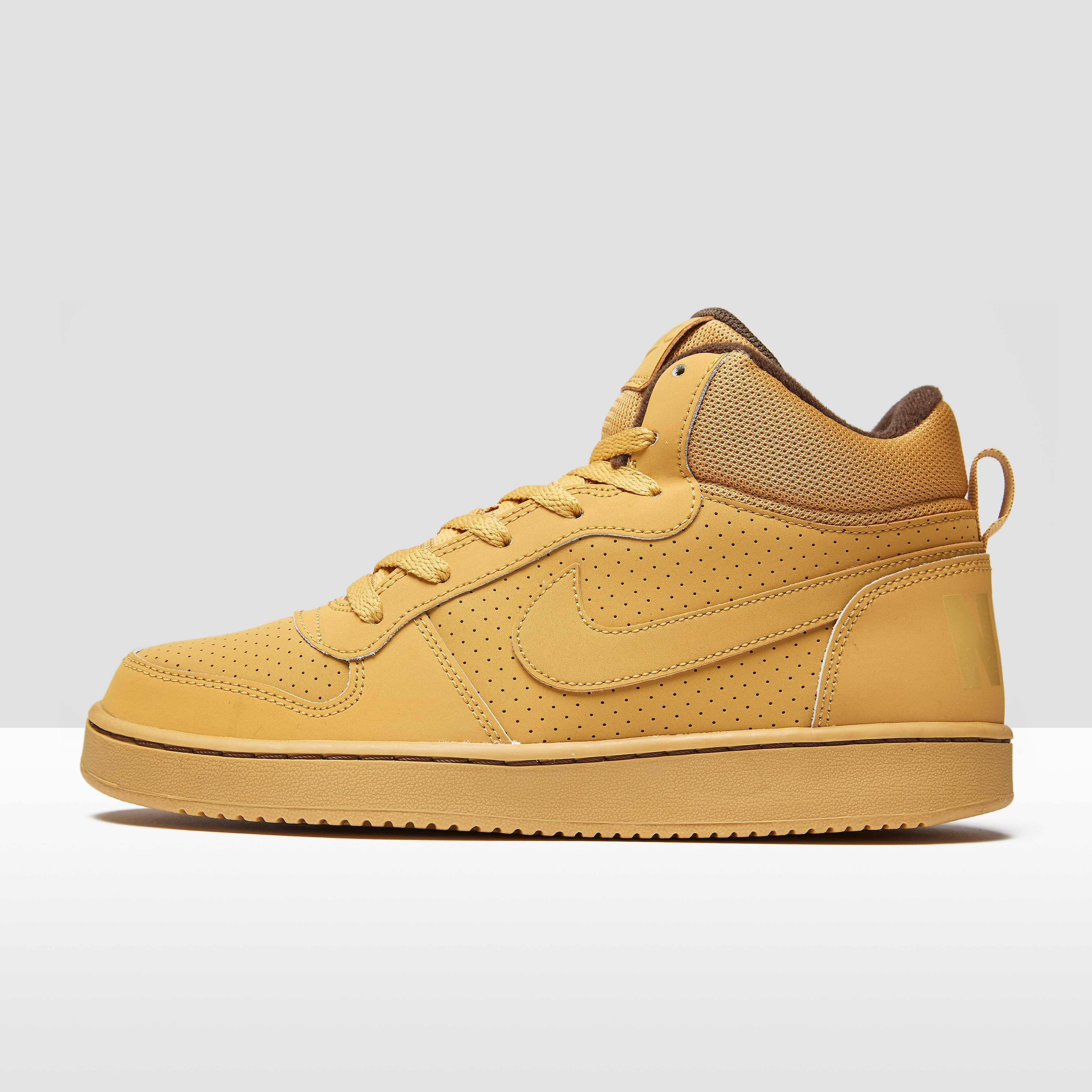 NIKE COURT BOROUGH MID SNEAKERS BRUIN JONGENS