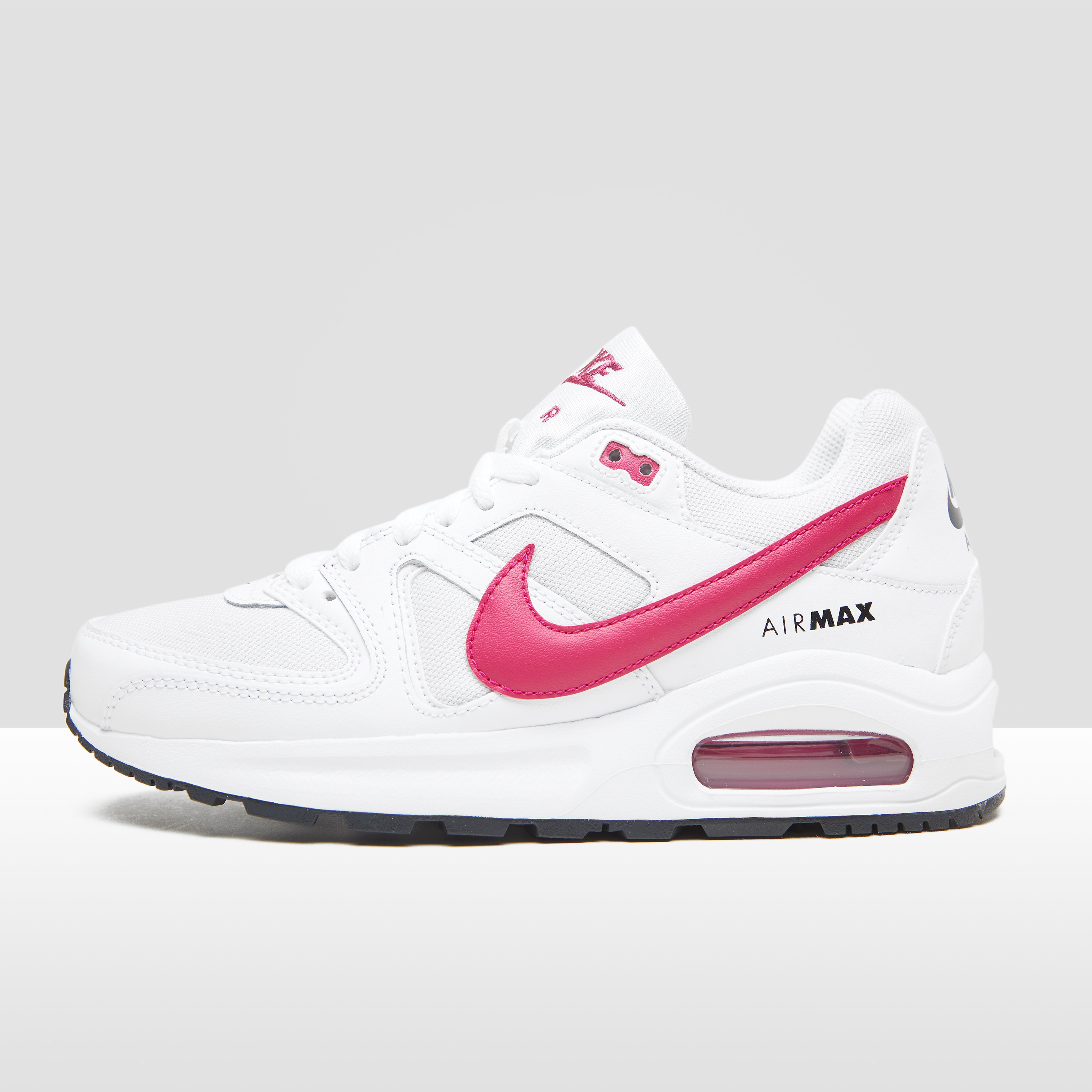 Nike AIR MAX COMMAND SNEAKERS WIT/ROZE KINDEREN