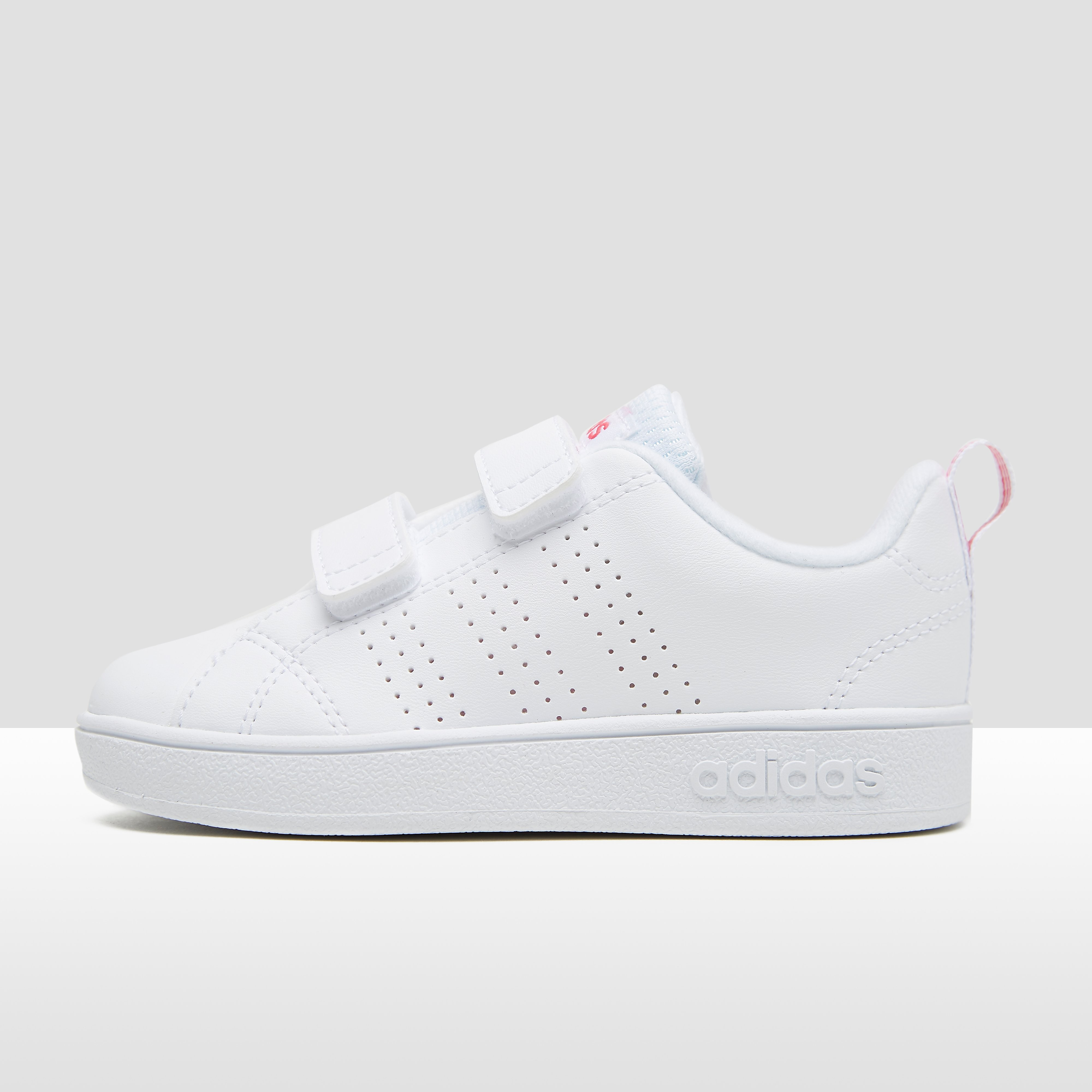 ADIDAS VS ADVANTAGE CLEAN SNEAKERS WIT/ROZE BABY