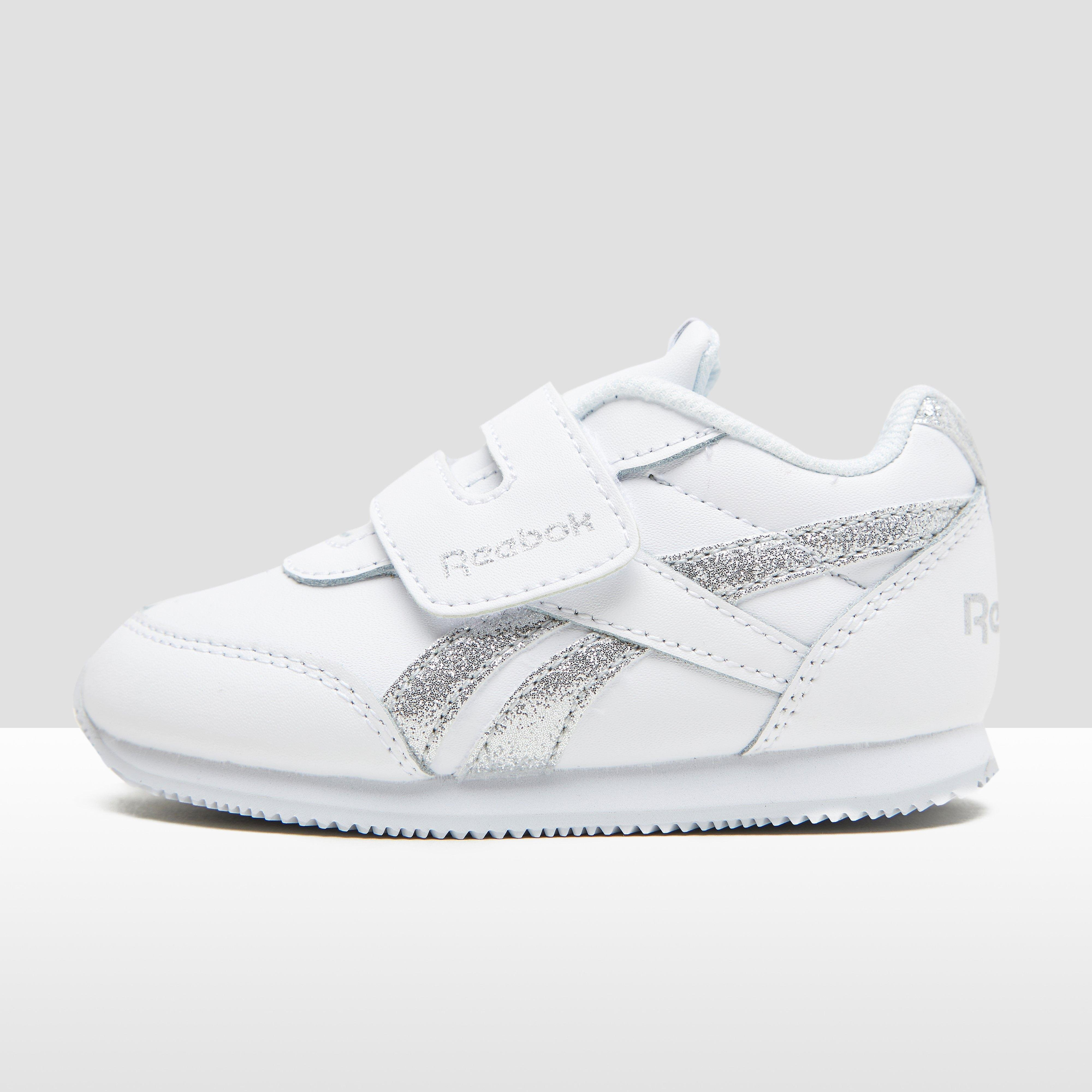 REEBOK ROYAL CLASSIC JOGGER SNEAKERS WIT/ZILVER BABY