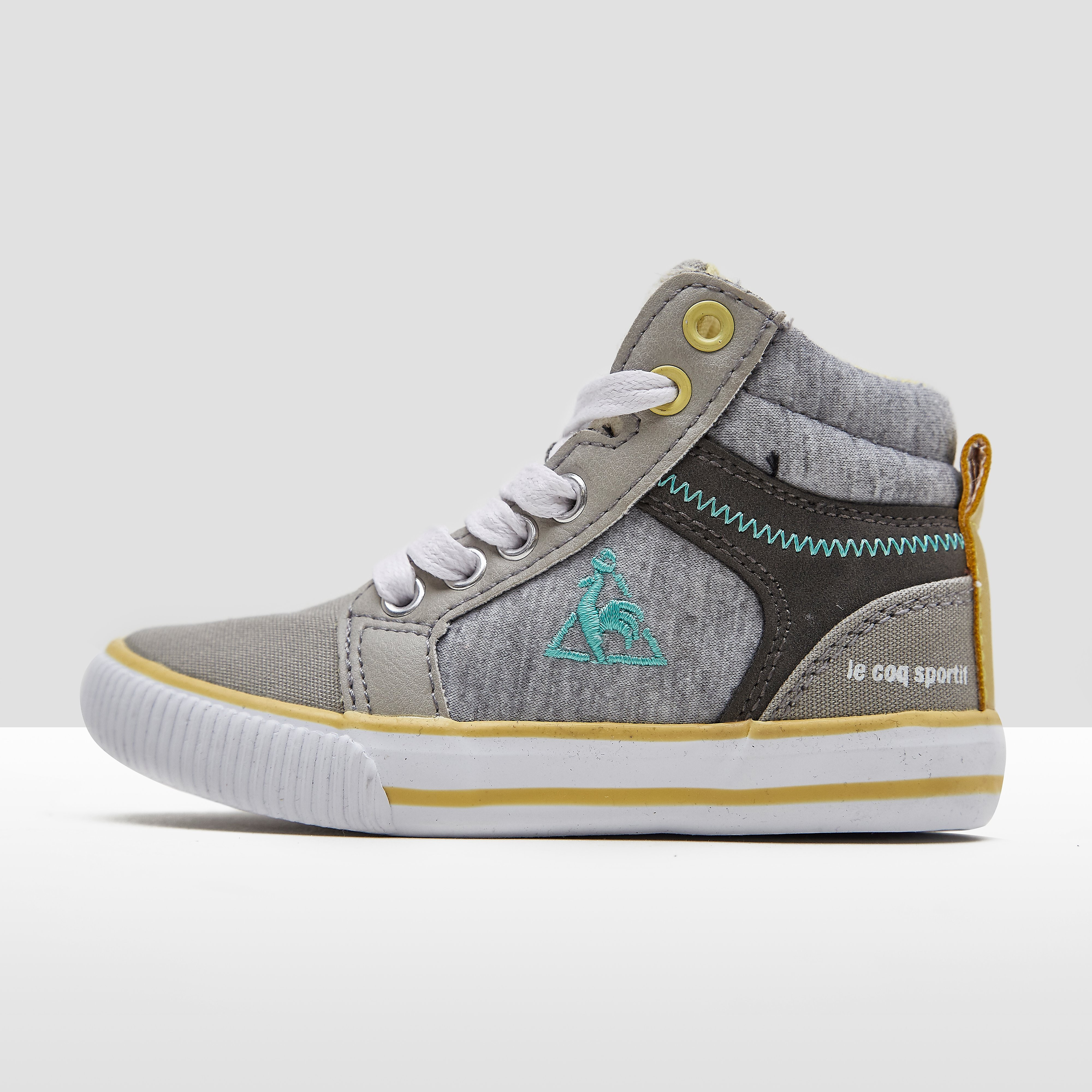 LE COQ SPORTIF MELODIE MID SNEAKERS GRIJS BABY