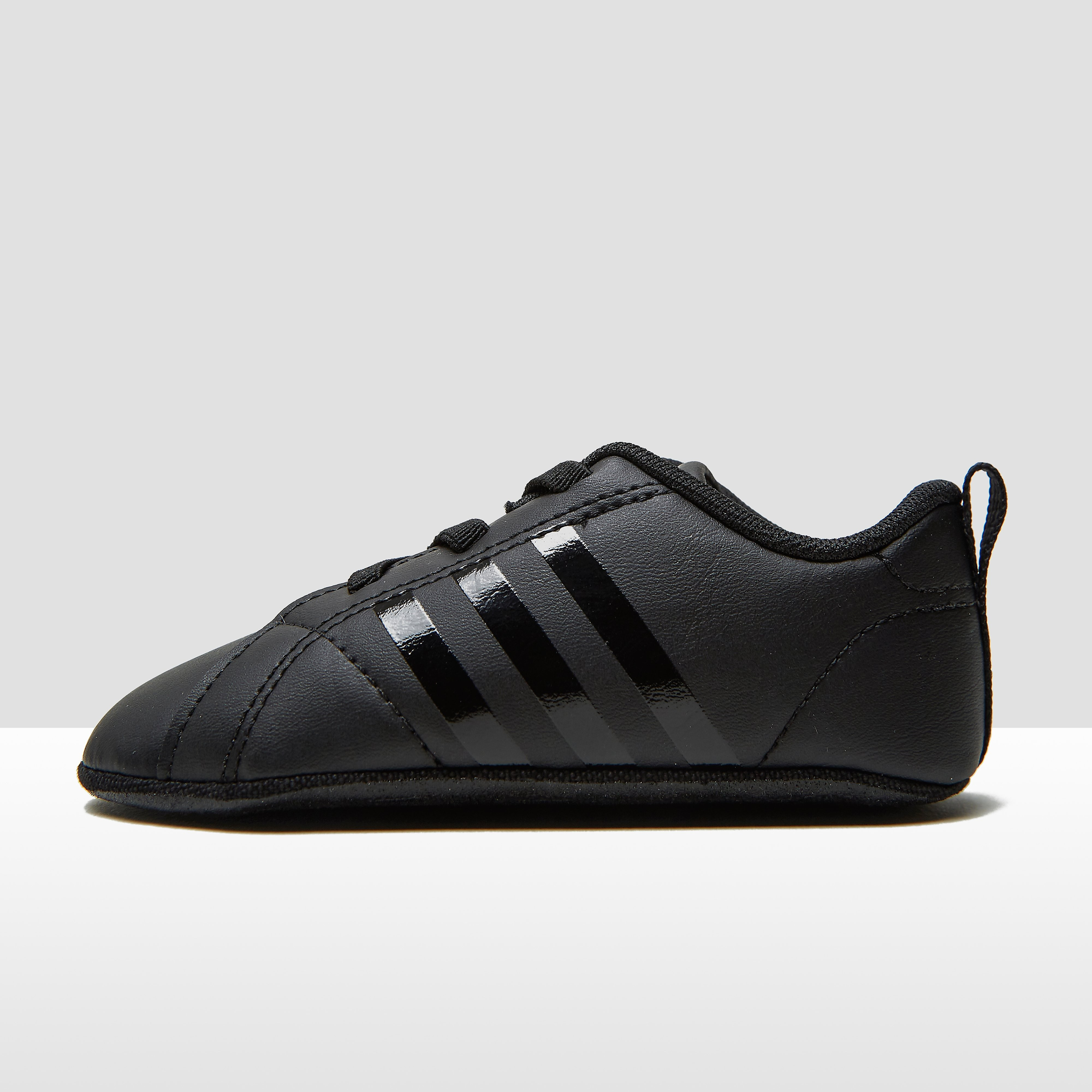 ADIDAS VS ADVANTAGE CRIB SNEAKERS ZWART BABY