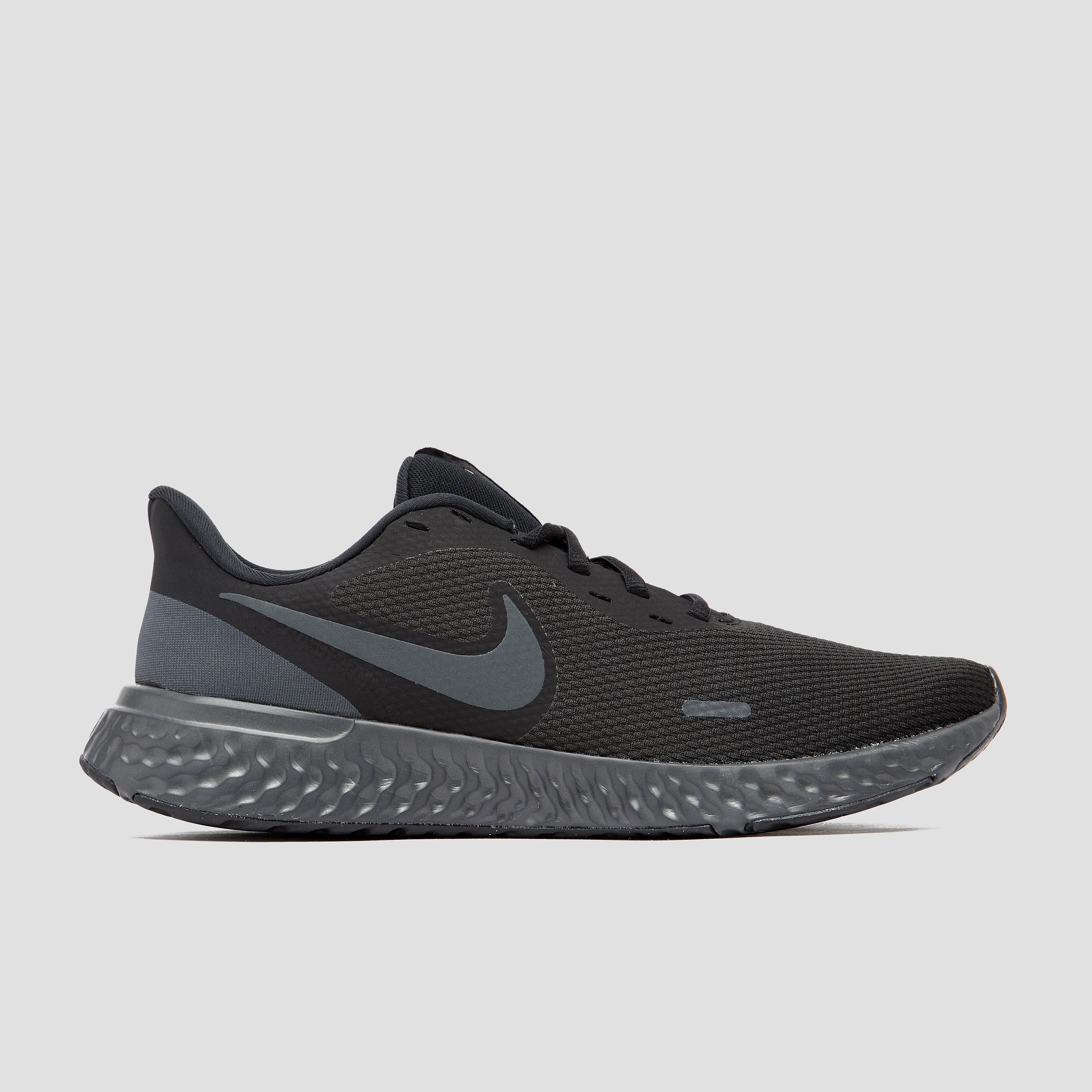 Nike revolution 5 hardloopschoenen zwart/grijs heren online kopen