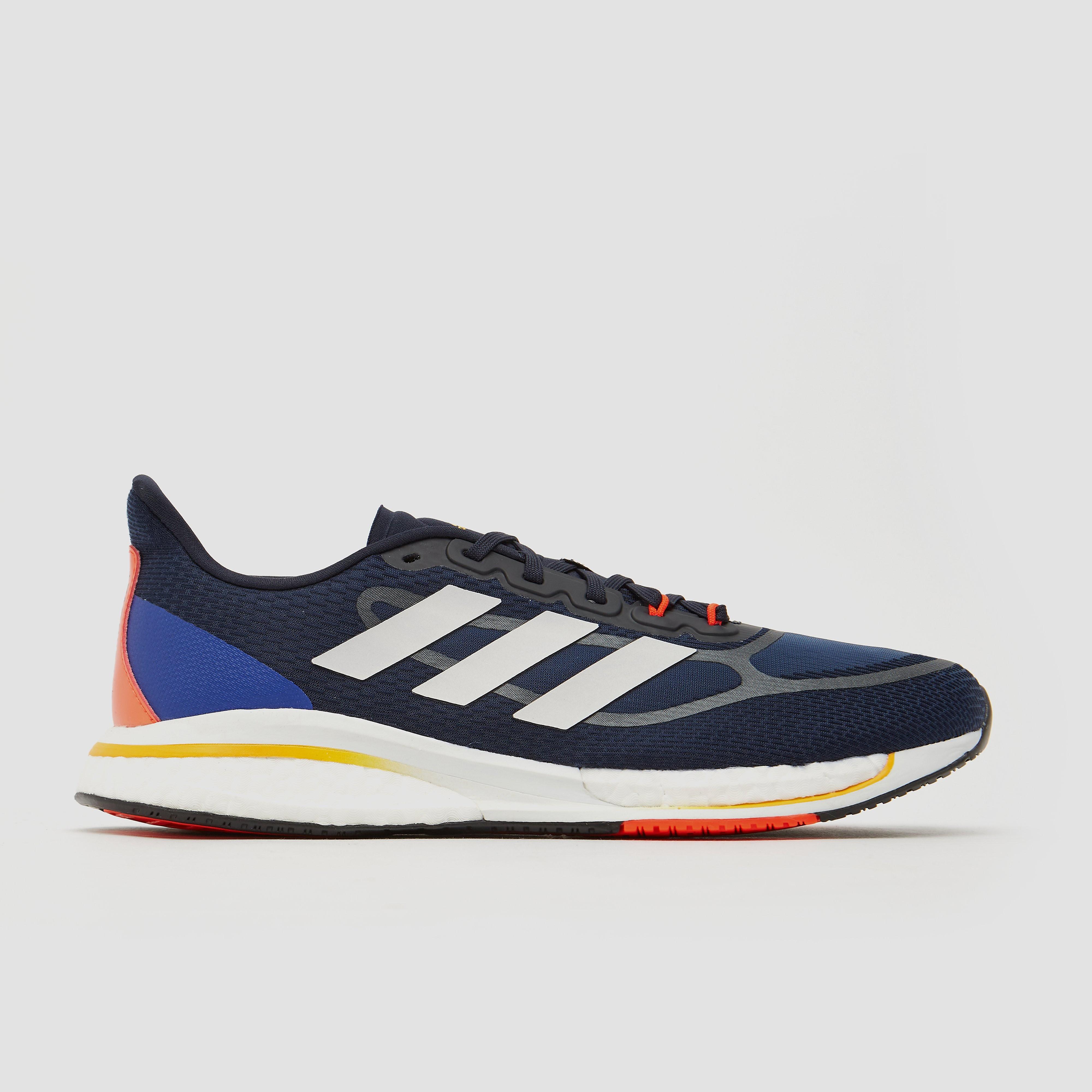 Adidas supernova + hardloopschoenen grijs heren online kopen