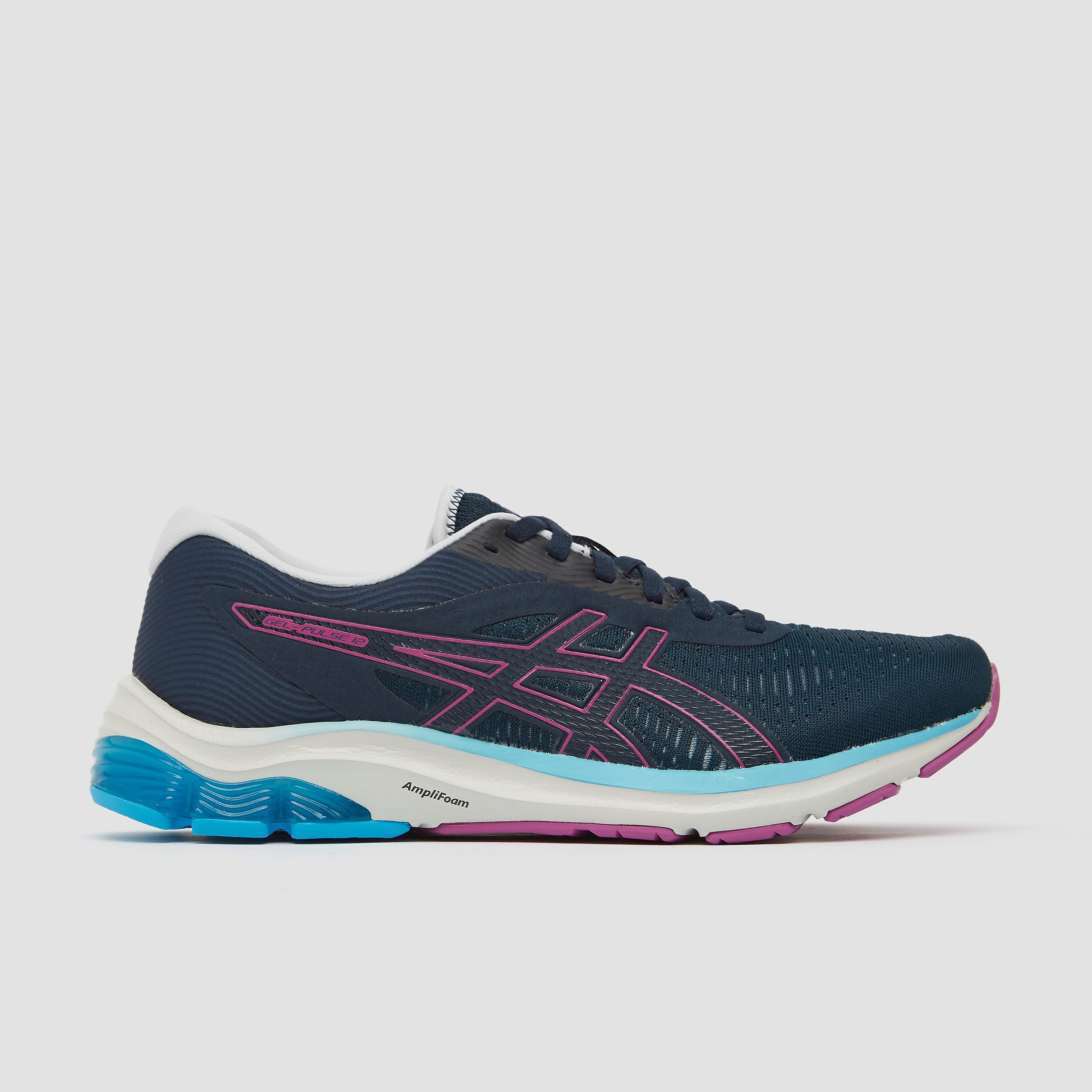ASICS Gel-Pulse 12 hardloopschoenen donkerblauw/roze/blauw online kopen