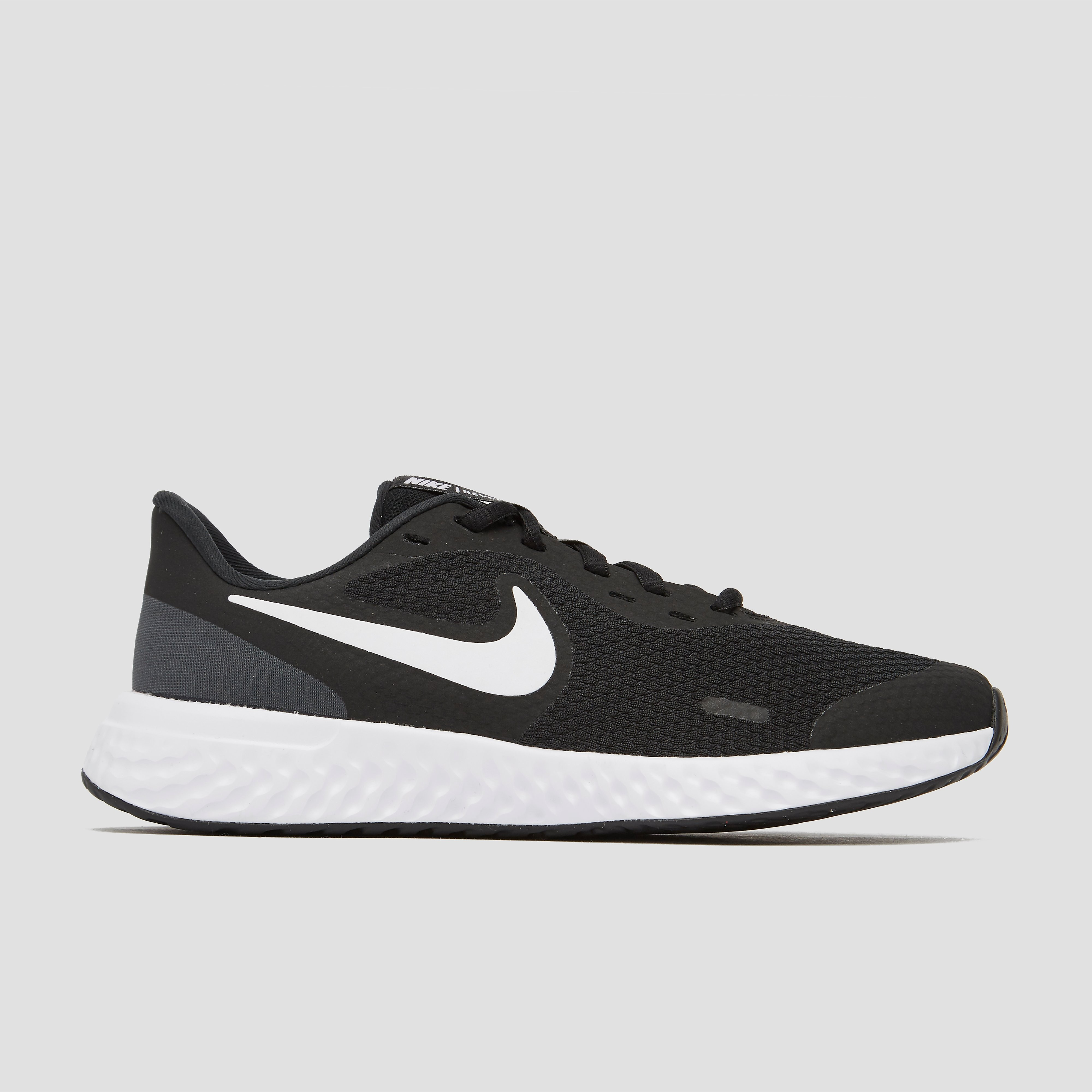 Nike revolution 5 hardloopschoenen zwart/wit kinderen online kopen