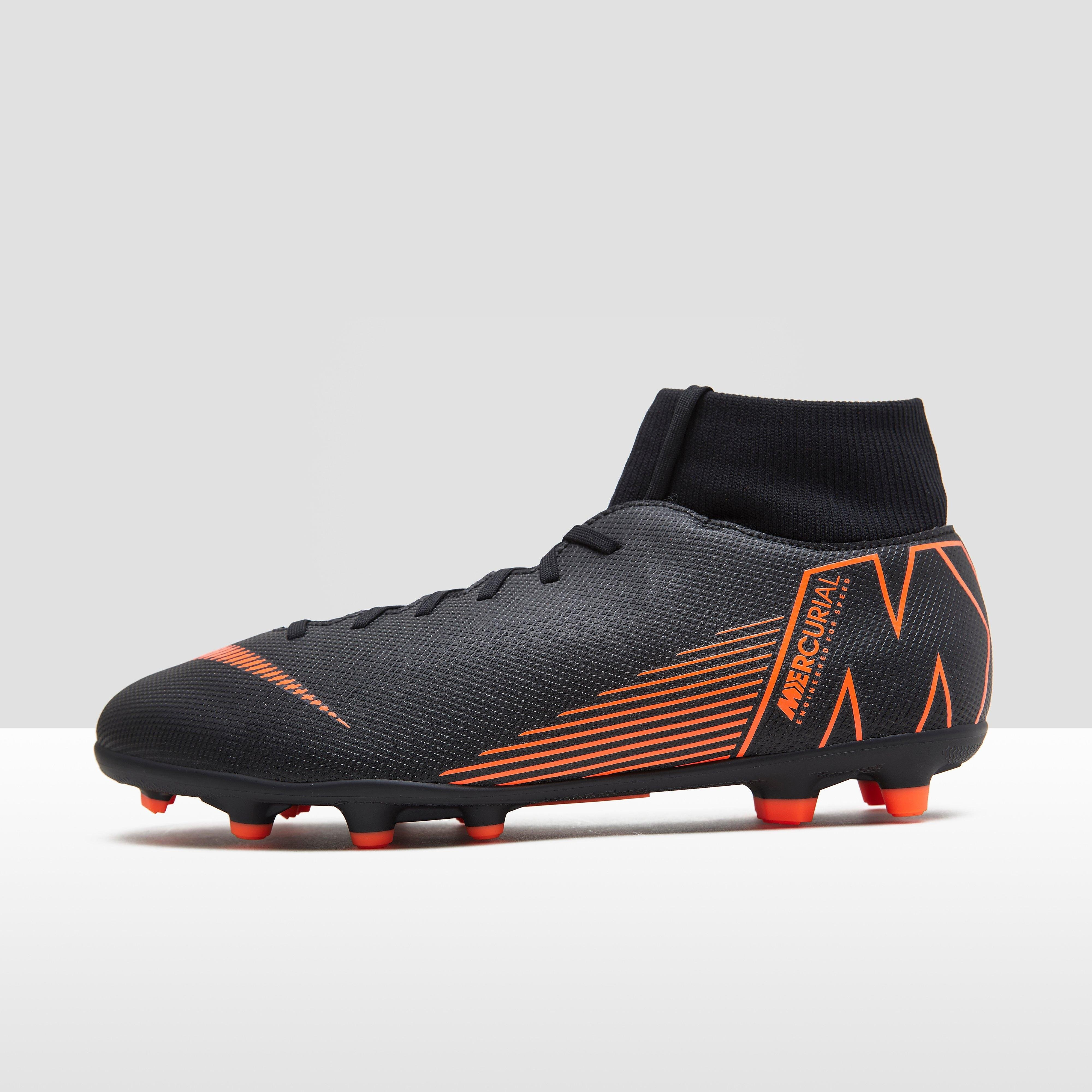 NIKE MERCURIAL SUPERFLY 6 CLUB MG VOETBALSCHOENEN ZWART HEREN