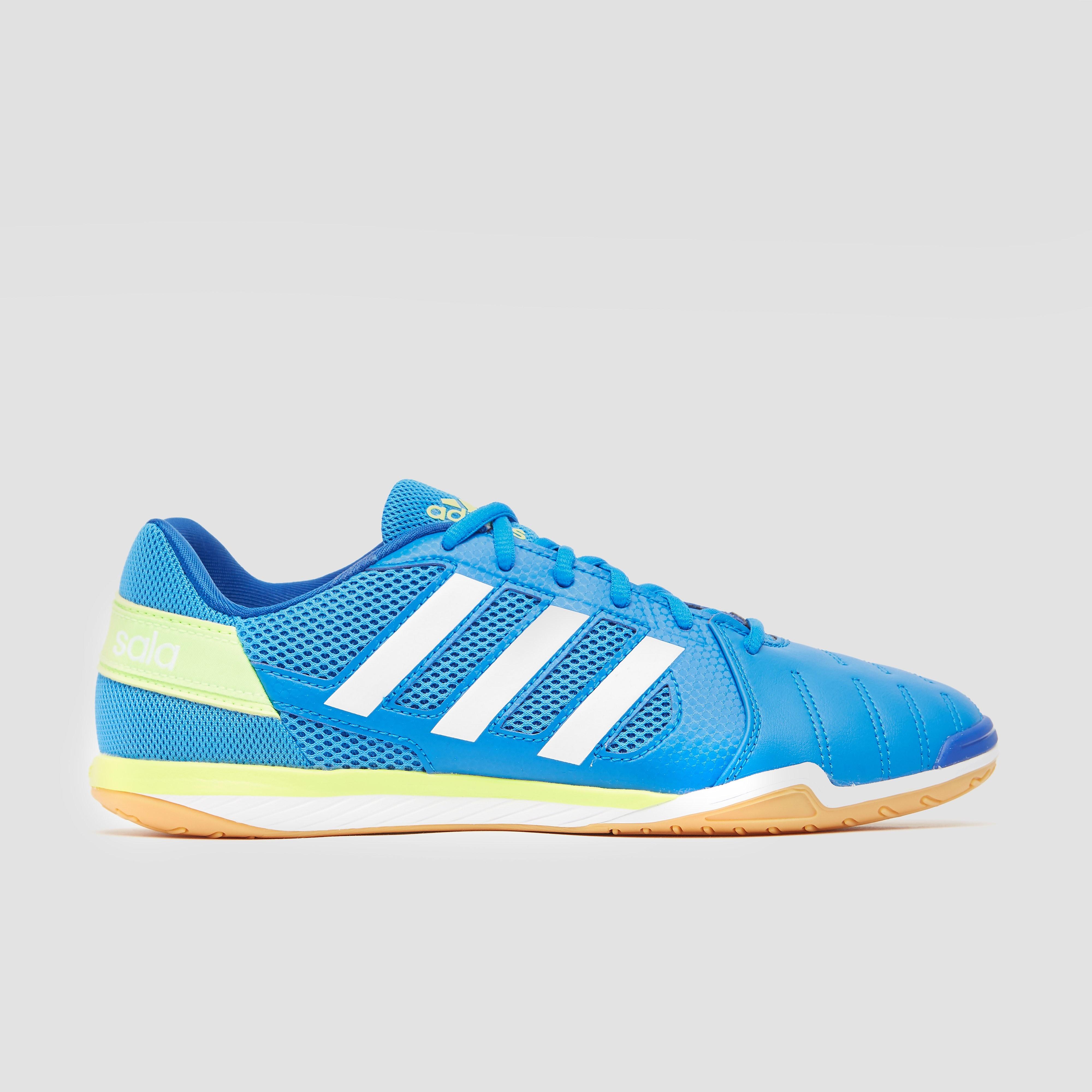 Adidas Zaalvoetbalschoenen Top Sala blauw-groen