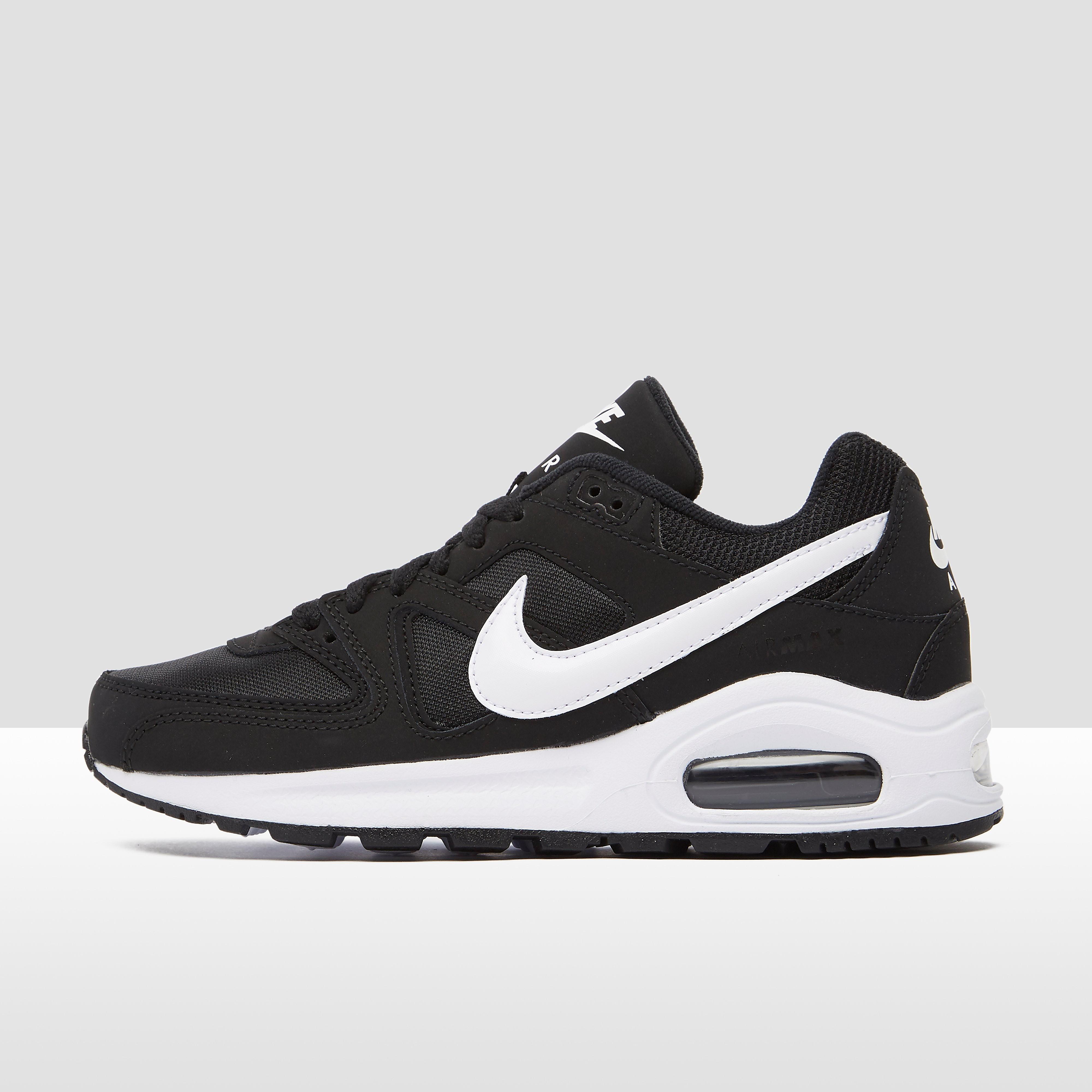 NIKE Air max command flex sneakers zwart/wit kinderen Kinderen