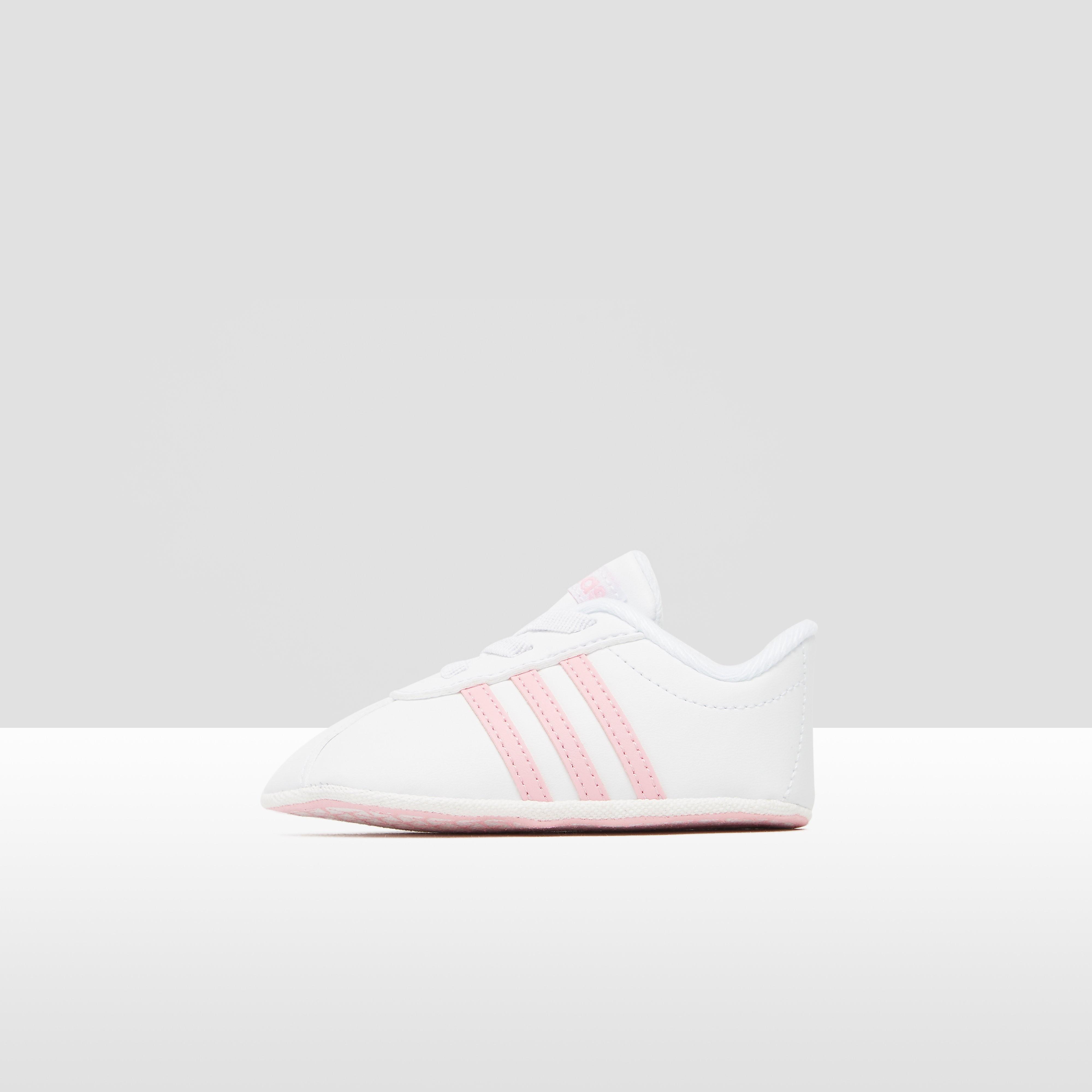 Adidas Vl court 2.0 crib sneakers witroze baby Kinderen