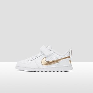 e563dfb1925f4 NIKE COURT BOROUGH LOW SNEAKERS WIT GOUD BABY