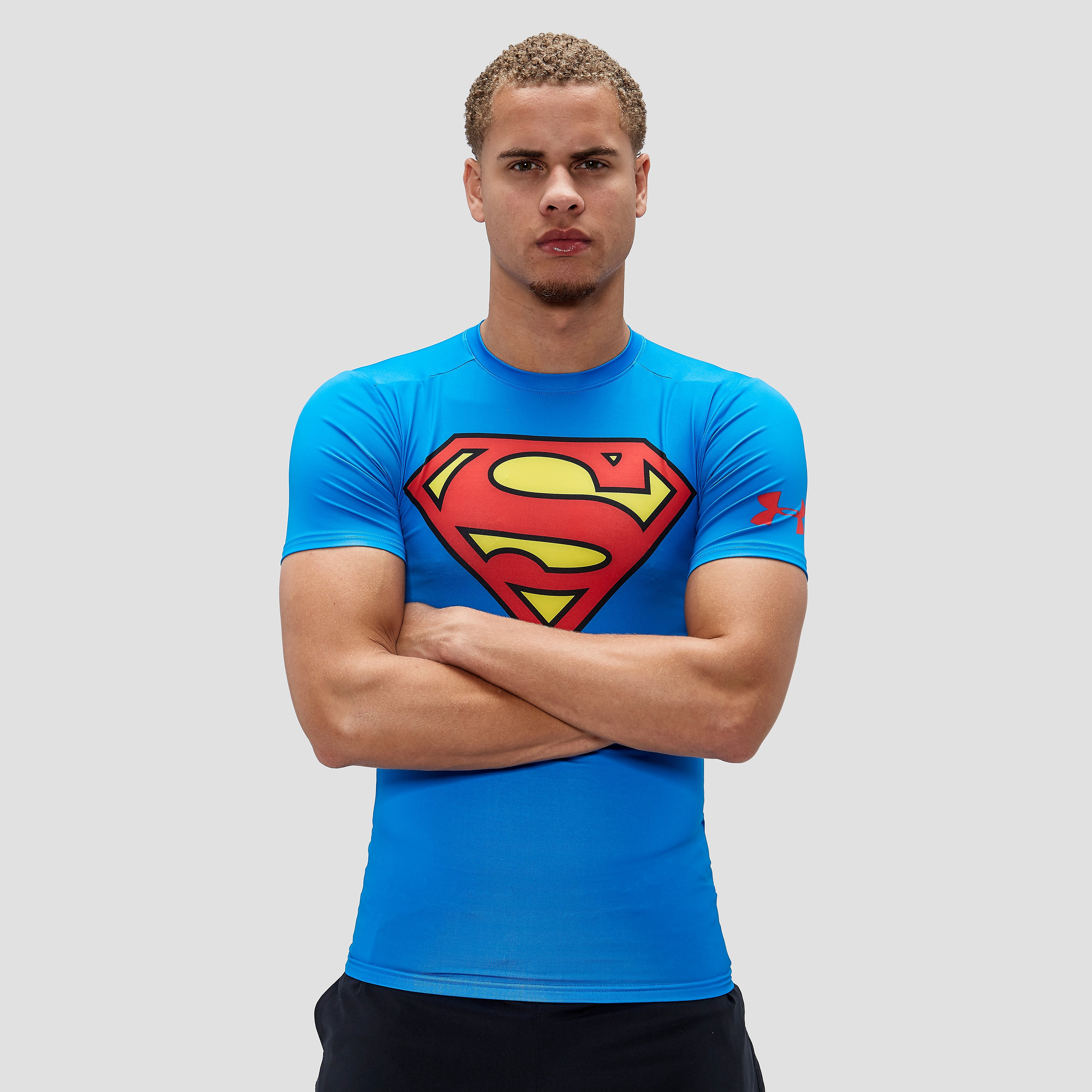 UNDER ARMOUR TRANSFORM YOURSELF SUPERMAN COMPRESSIESHIRT HEREN
