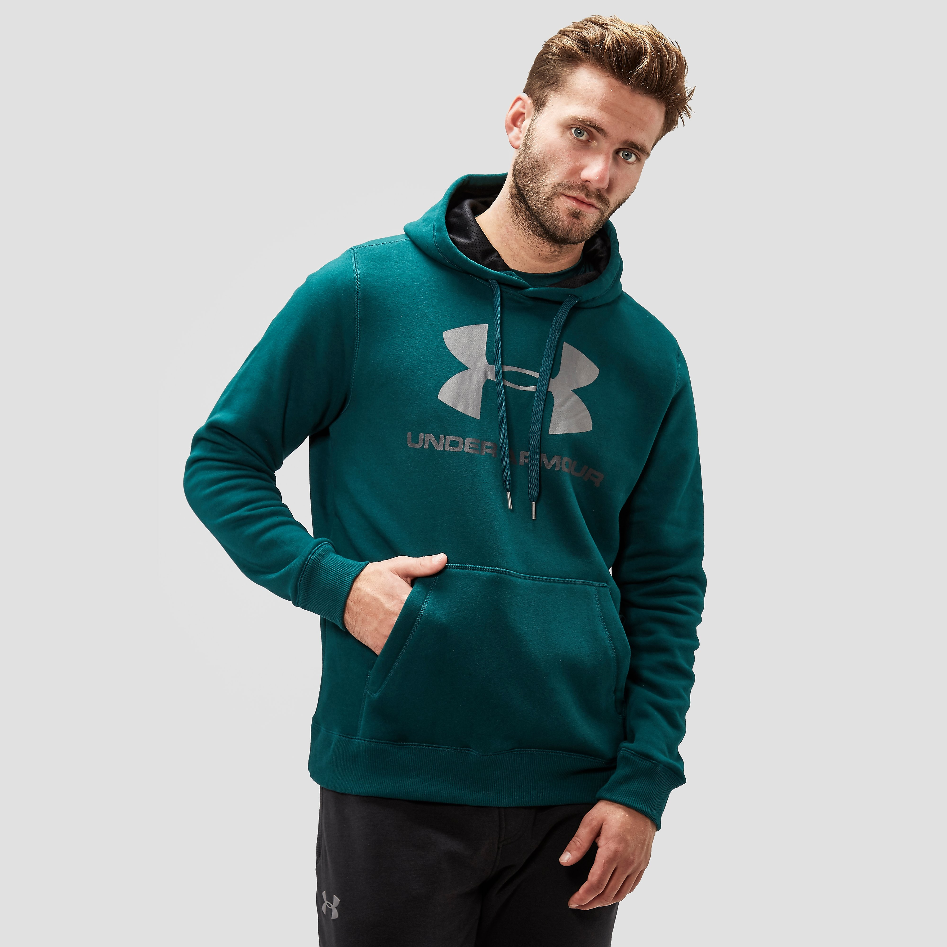 UNDER ARMOUR IVAL FITTED GRAPHIC SPORTTRUI GROEN HEREN