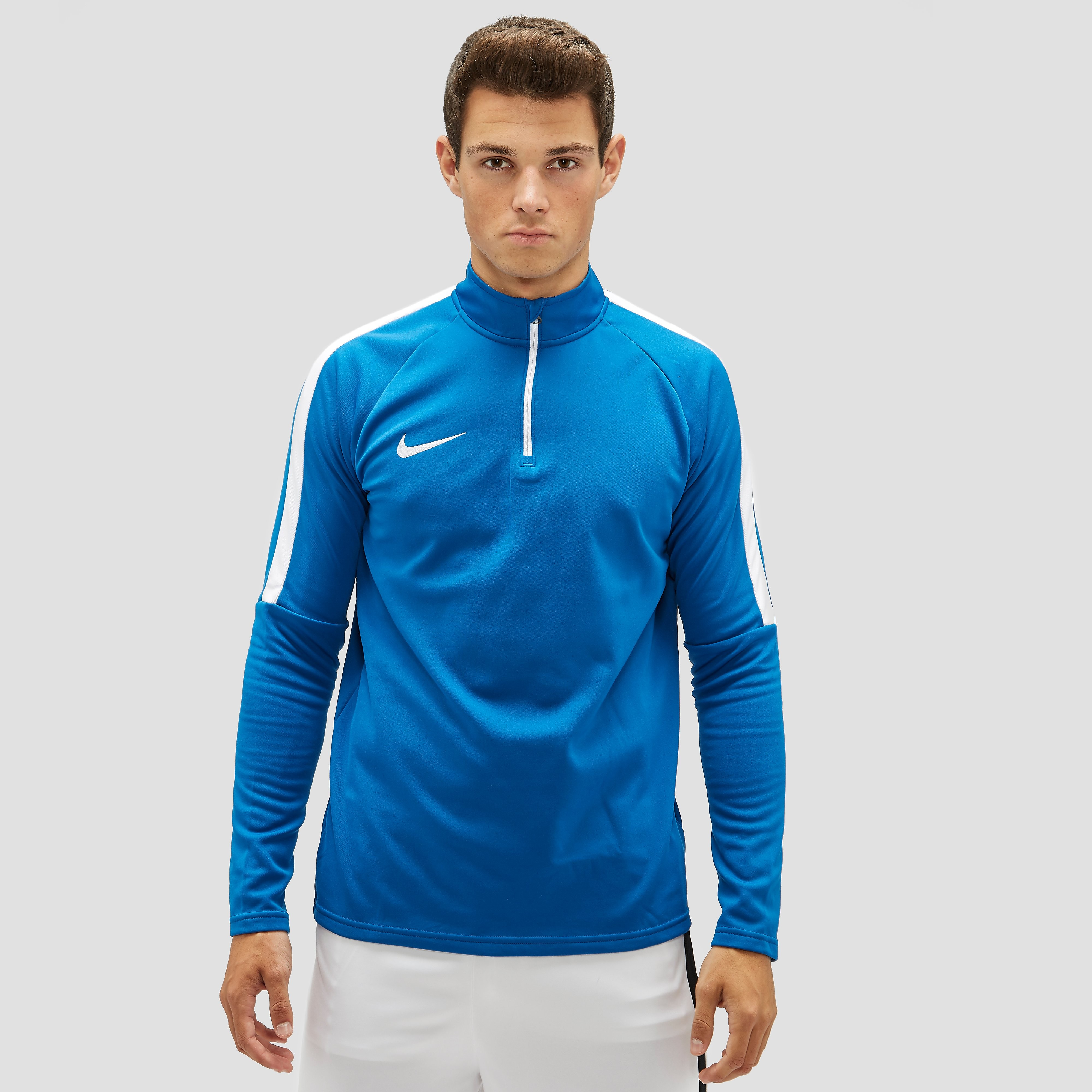 NIKE DRY ACADEMY DRIL TRAININGSTOP BLAUW HEREN