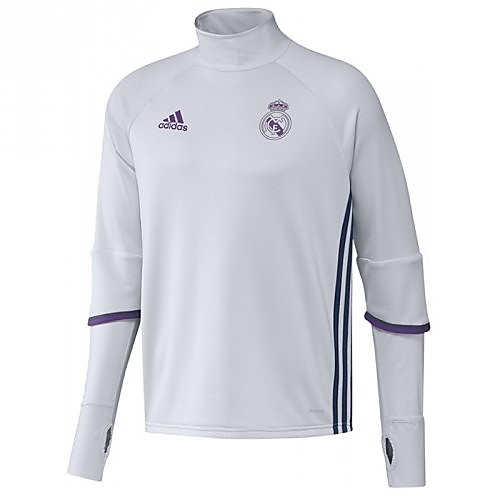 ADIDAS REAL MADRID TRAININGSTOP WIT HEREN