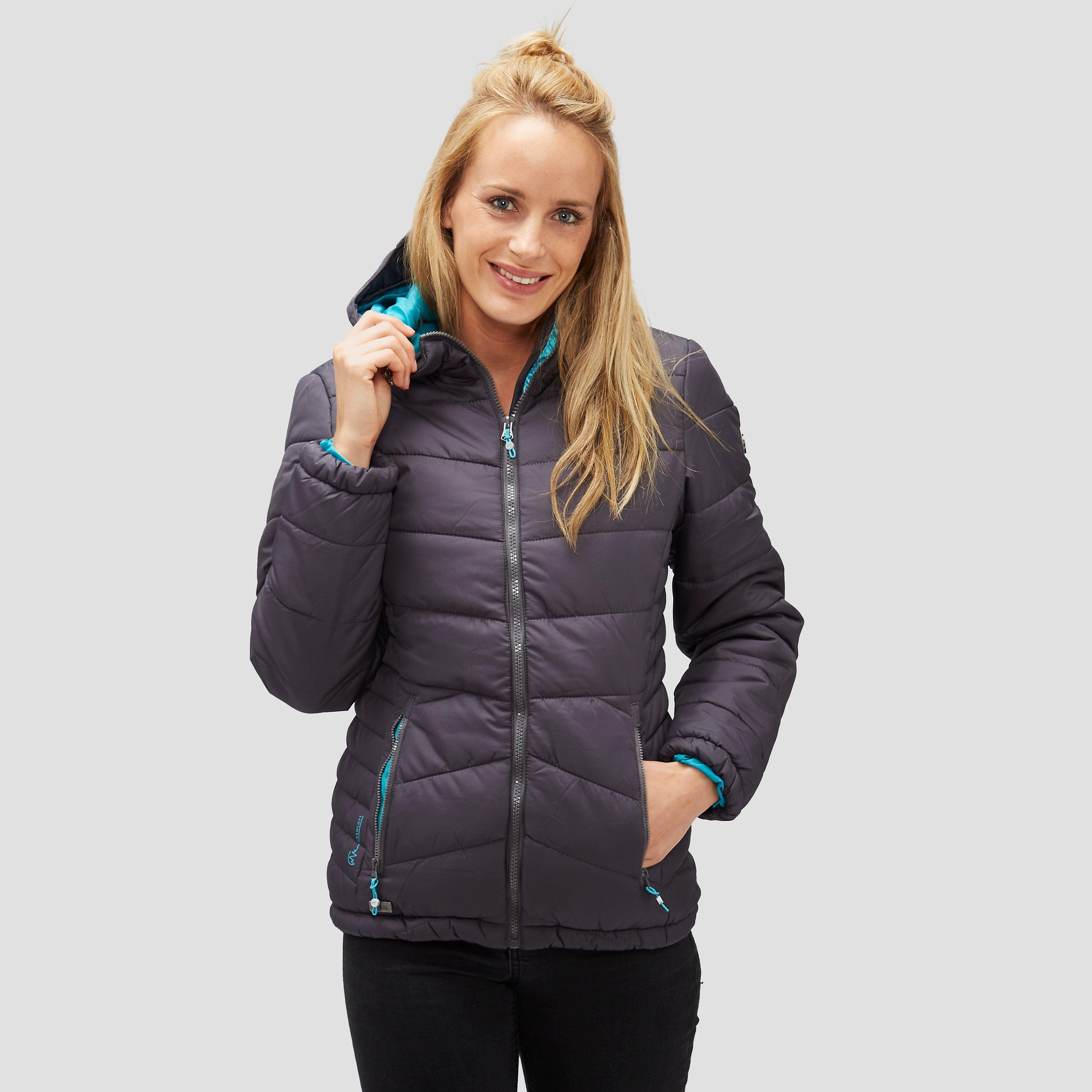 REGATTA NEVADO PARKA WINTERJAS GRIJS DAMES