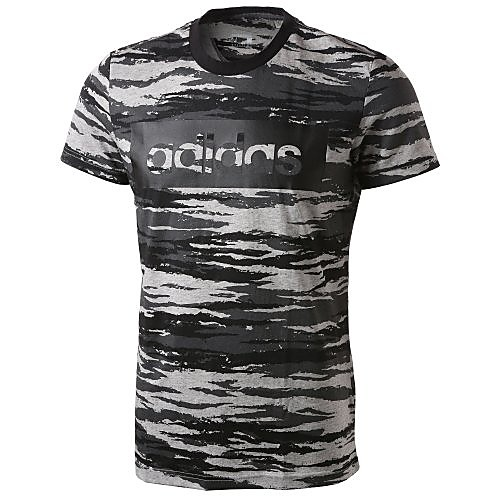 adidas LINEAR CAMOUFLAGE T-SHIRT