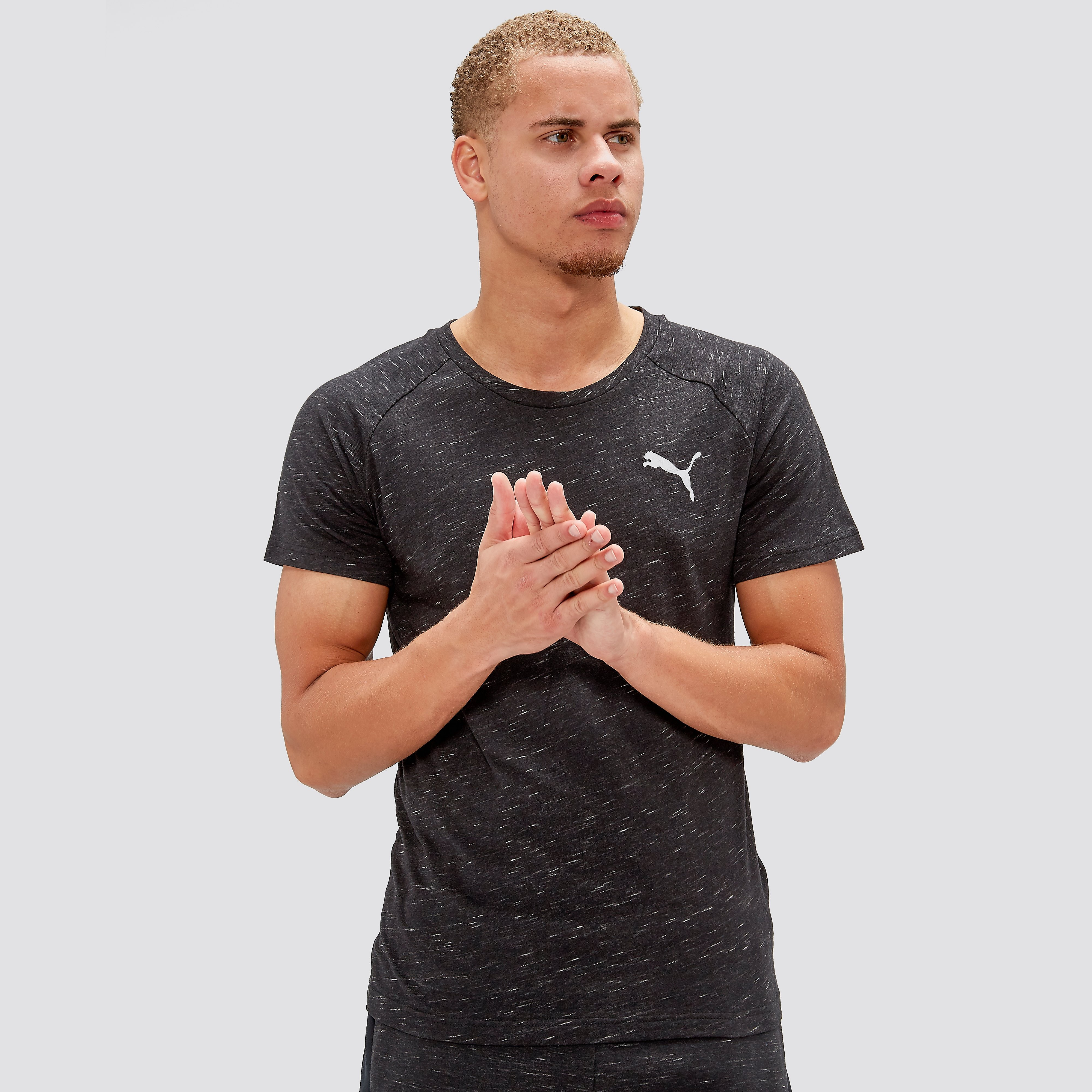 PUMA ACTIVE EVOSTRIPE SPACEKNIT T-SHIRT