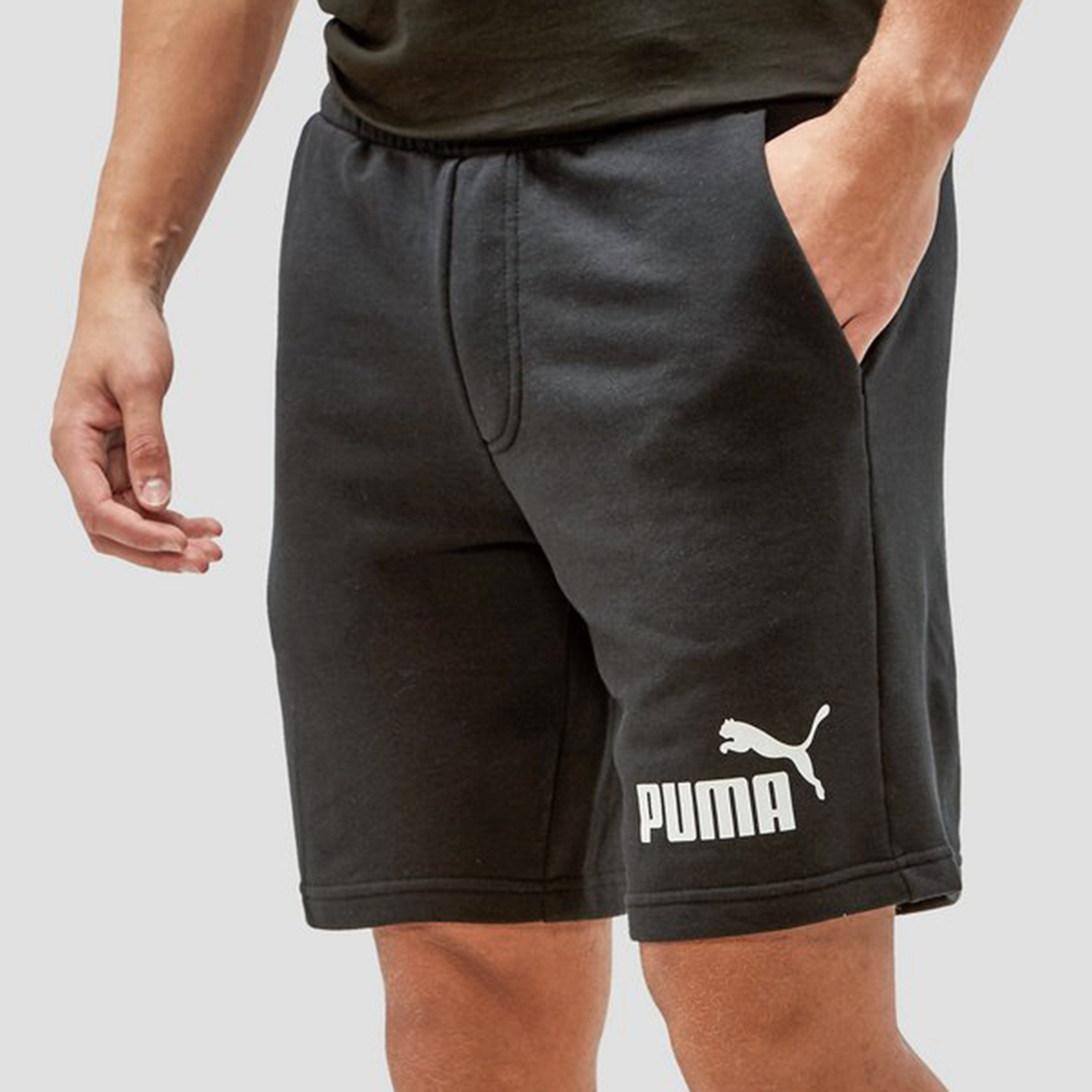 PUMA NO. 1 LOGO SWEATSHORT HEREN