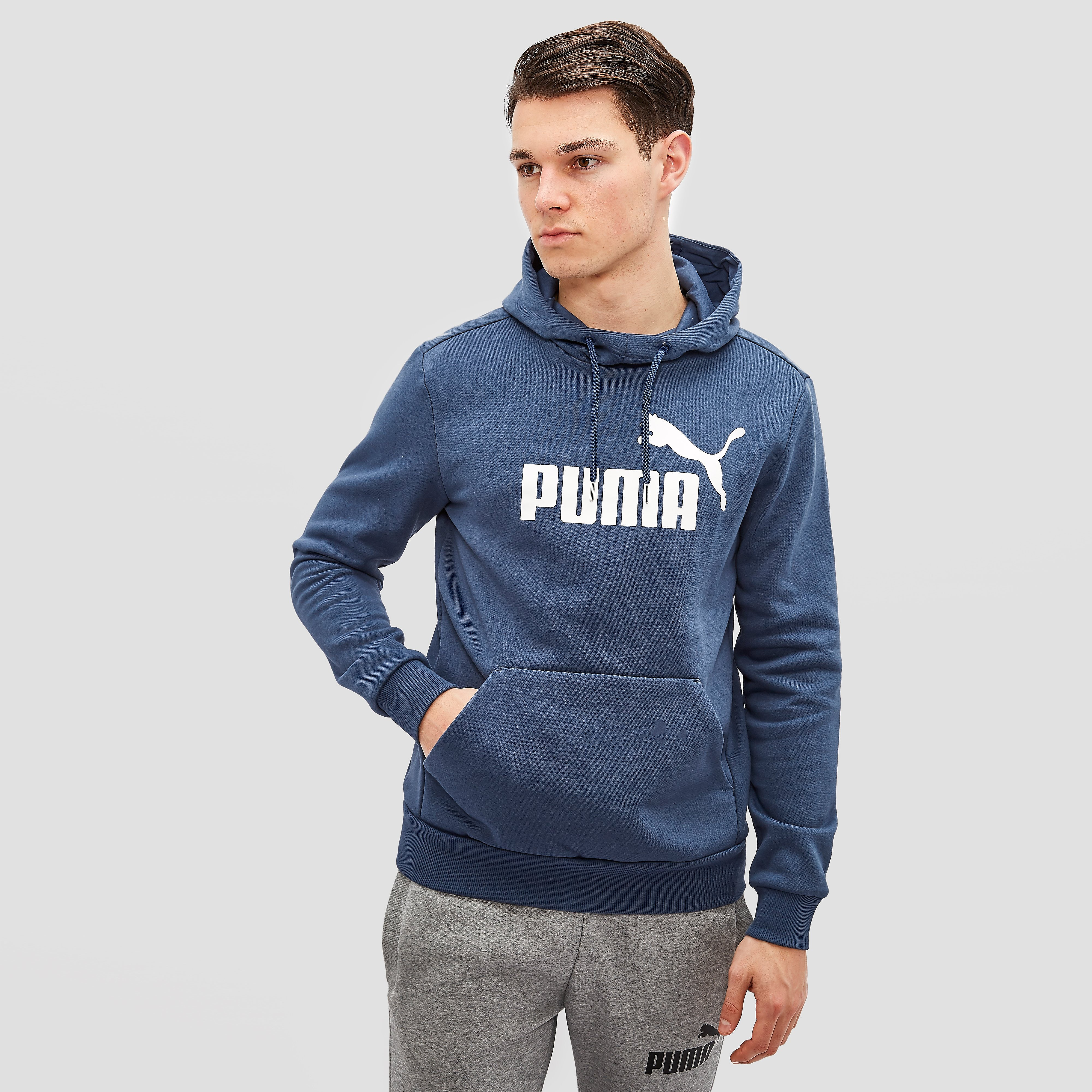 PUMA LOGO HOODED SWEAT