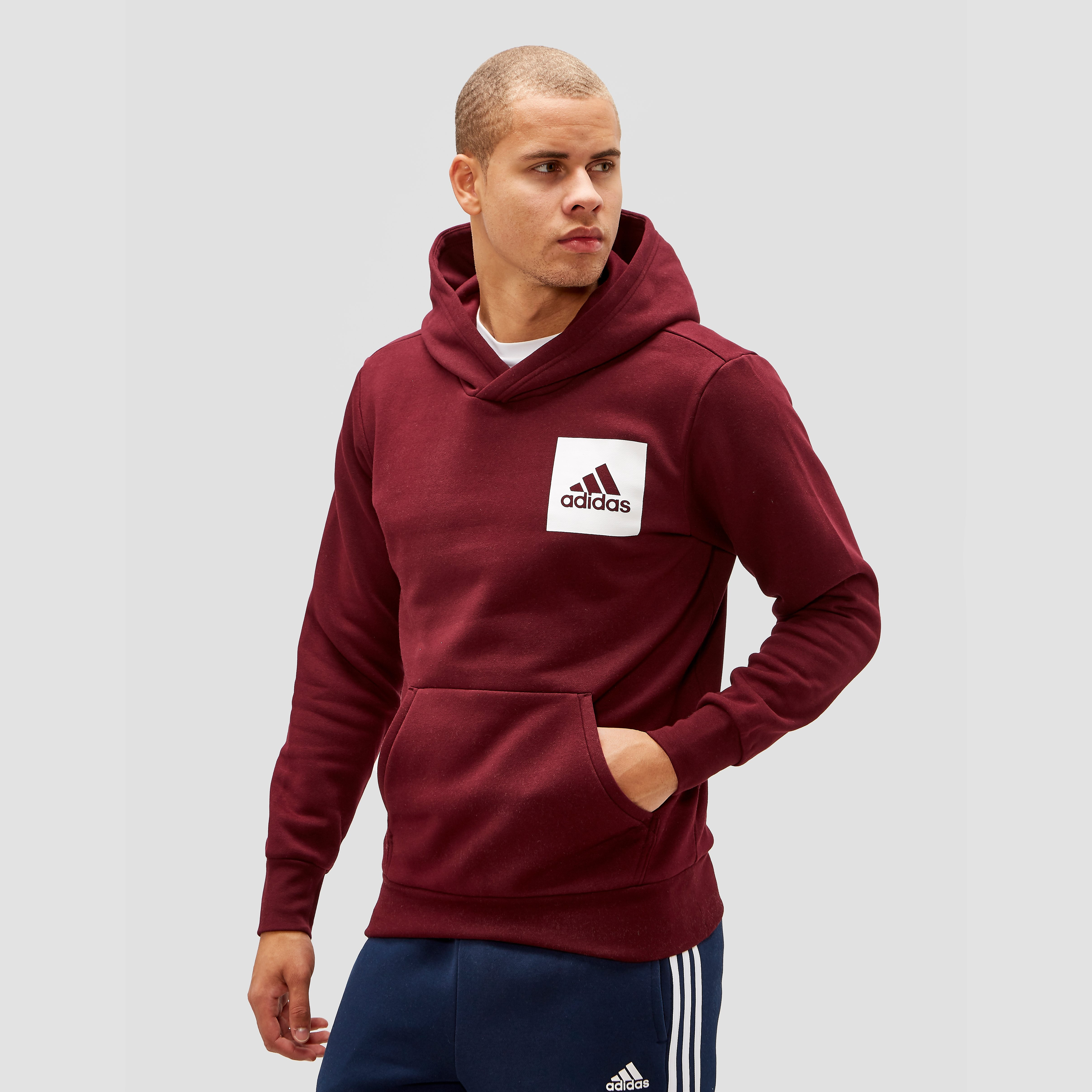ADIDAS ESSENTIALS LOGO TRUI ROOD HEREN