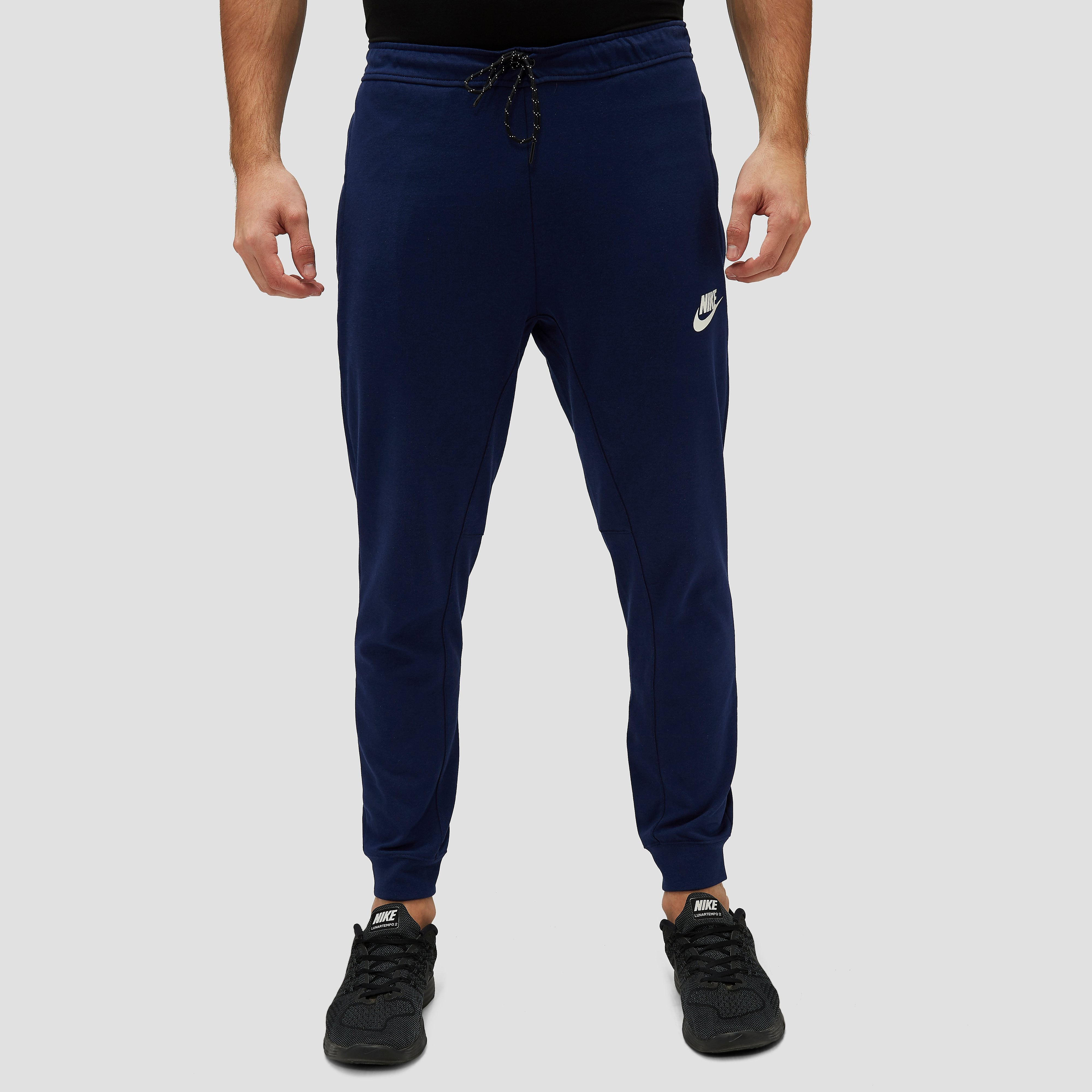 NIKE AV15 FLEECE JOGGINGBROEK BLAUW HEREN