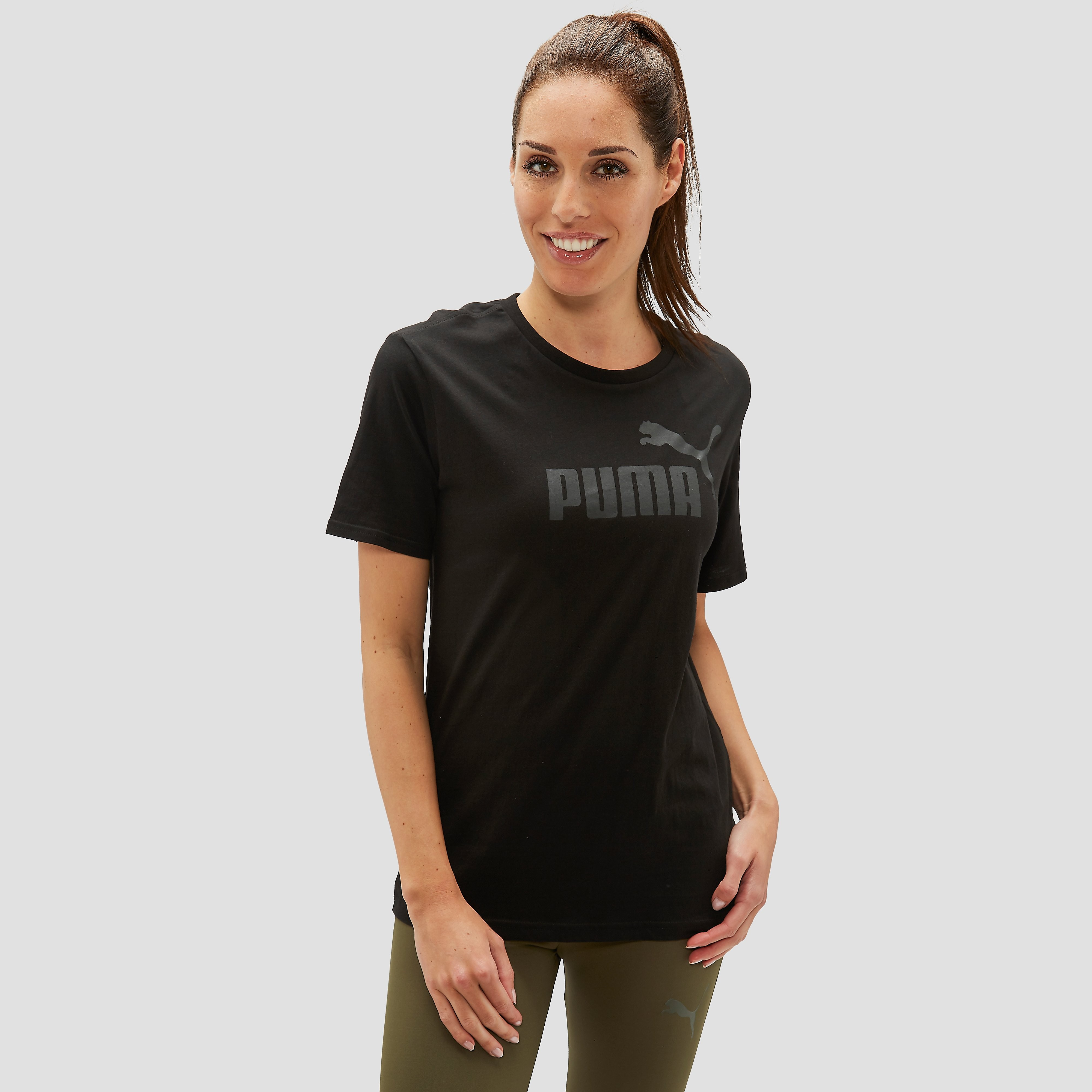 PUMA NO. 1 SHIRT ZWART HEREN