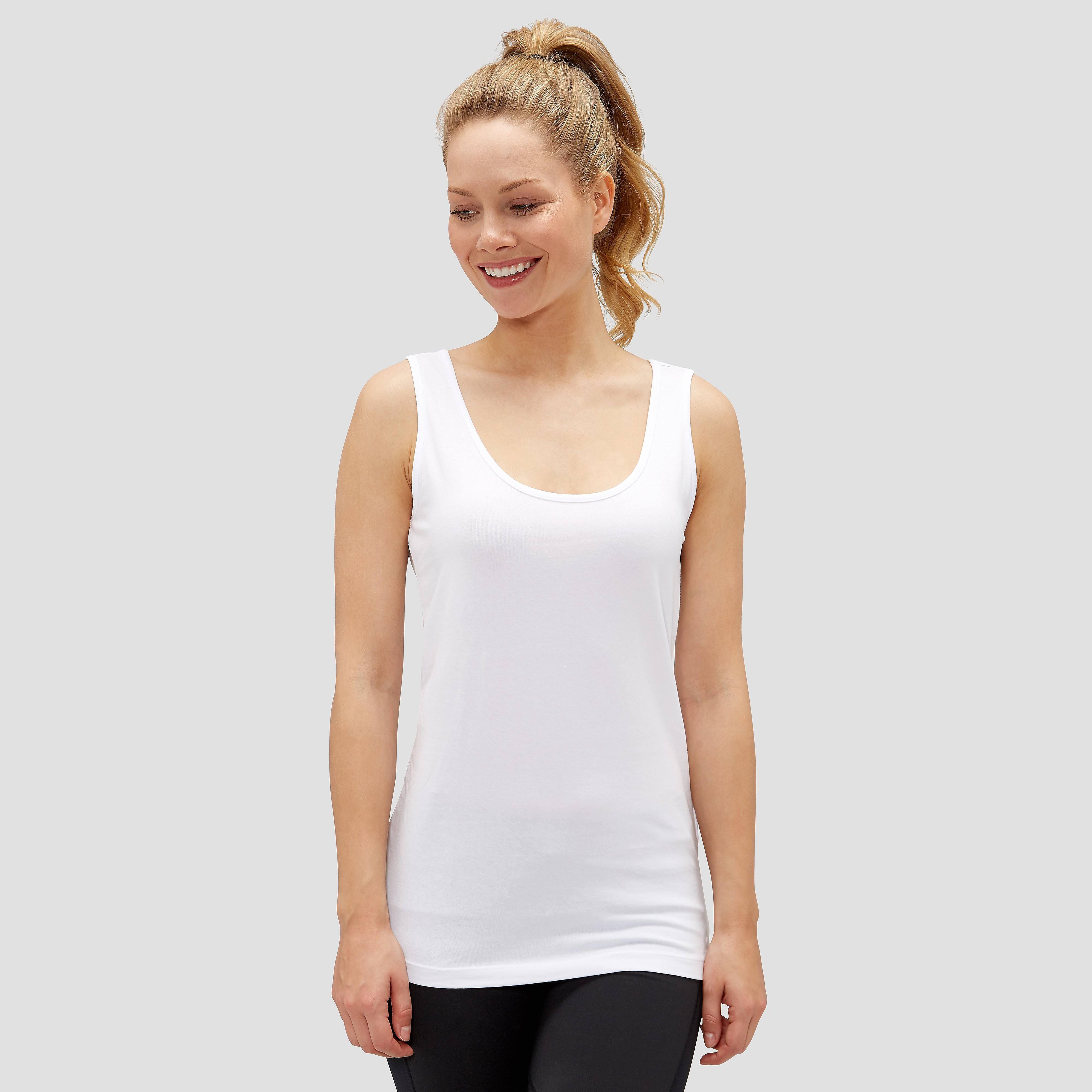 CHAMPION CRISSY TANKTOP WIT DAMES