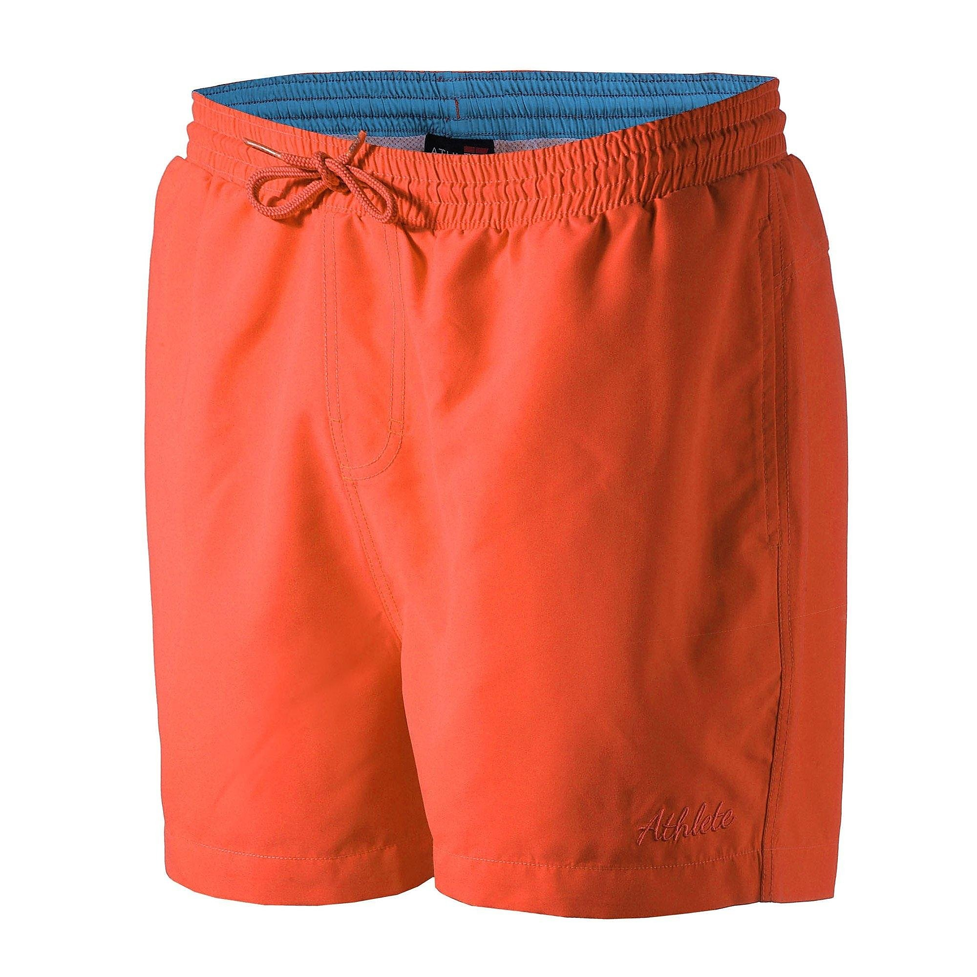 ATHLETE AKOW BOARDSHORT ORANJE KINDEREN