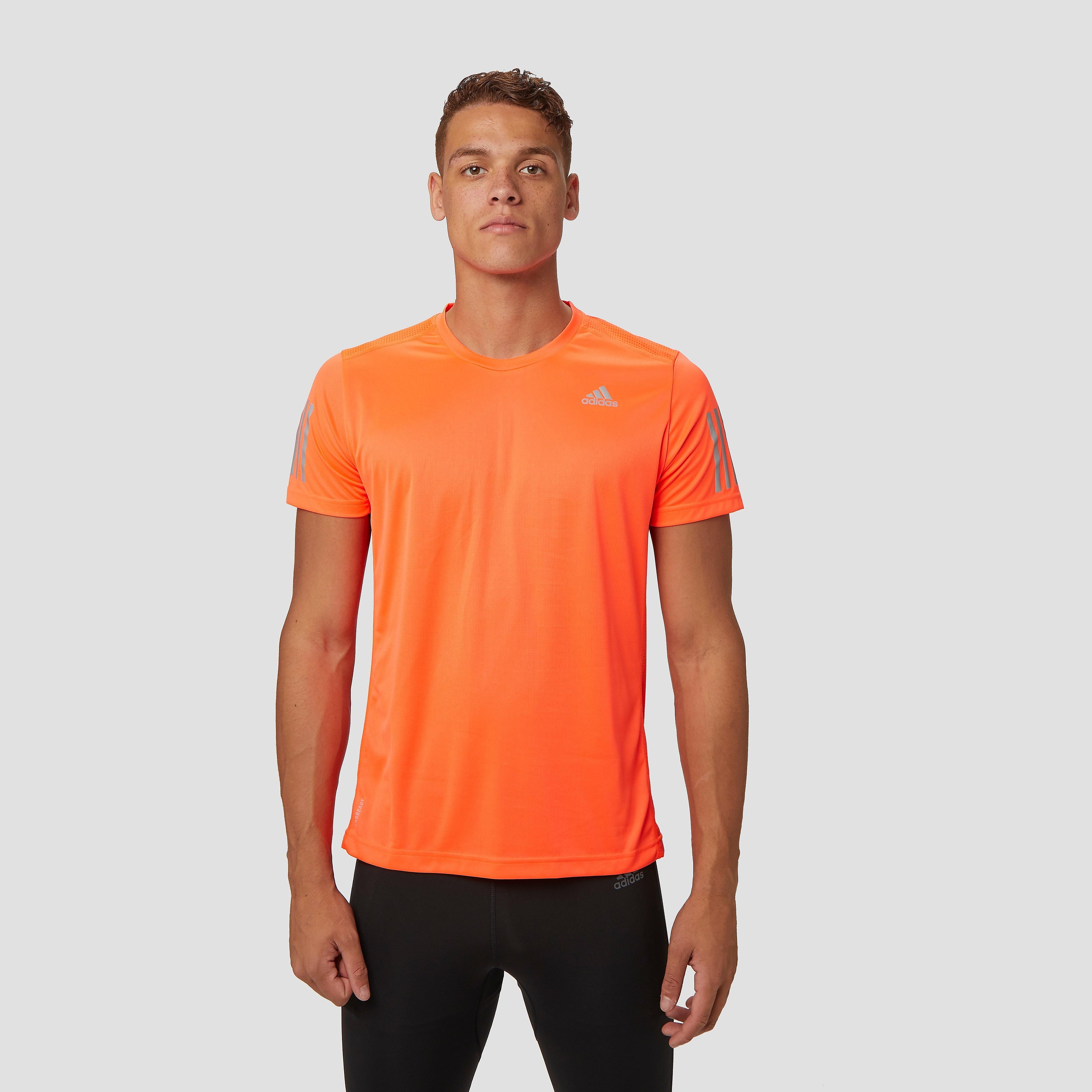 adidas Own the run hardloopshirt rood heren Heren