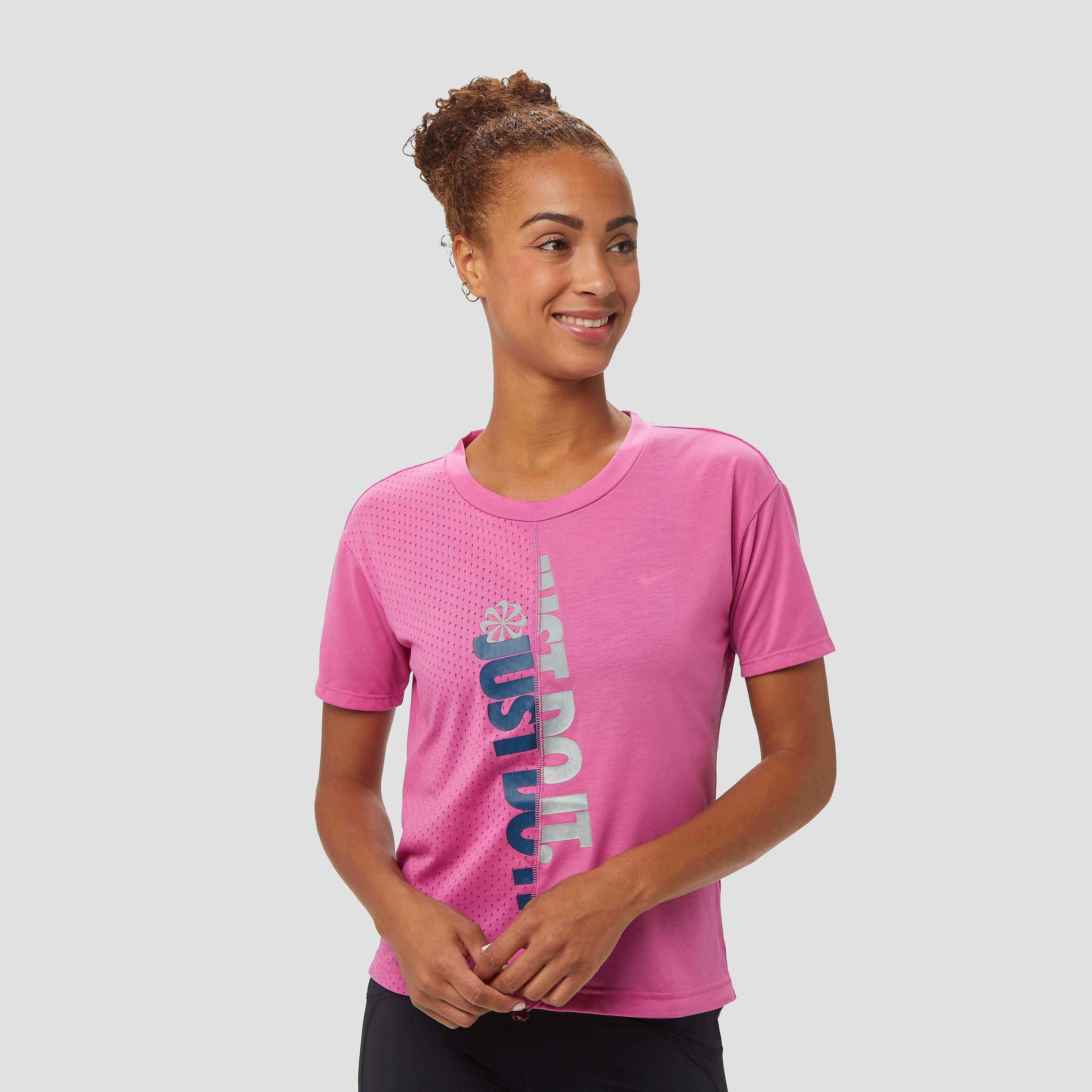 NIKE Iconclsh hardloopshirt roze dames Dames