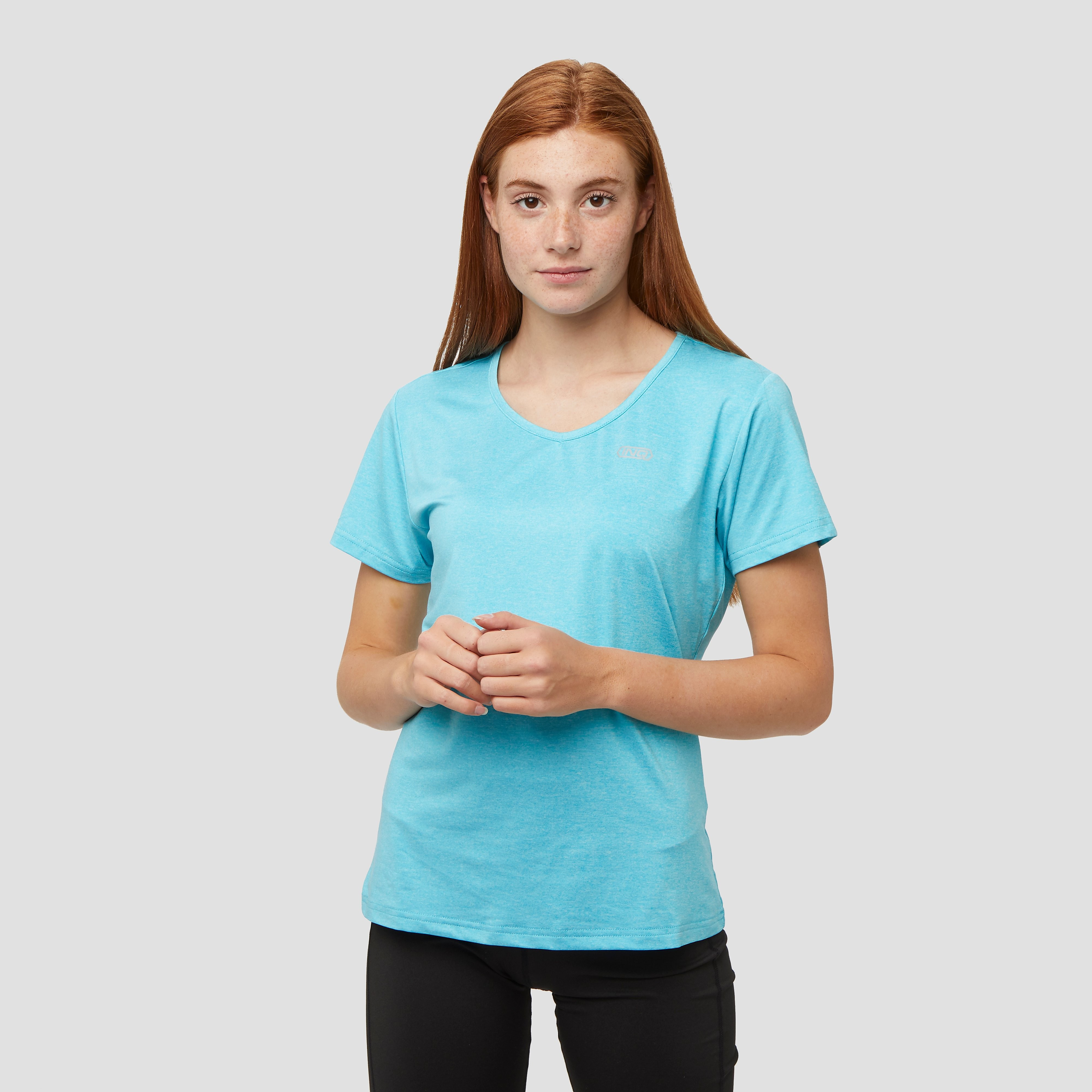 INQ Tempo 2 hardloopshirt blauw dames Dames