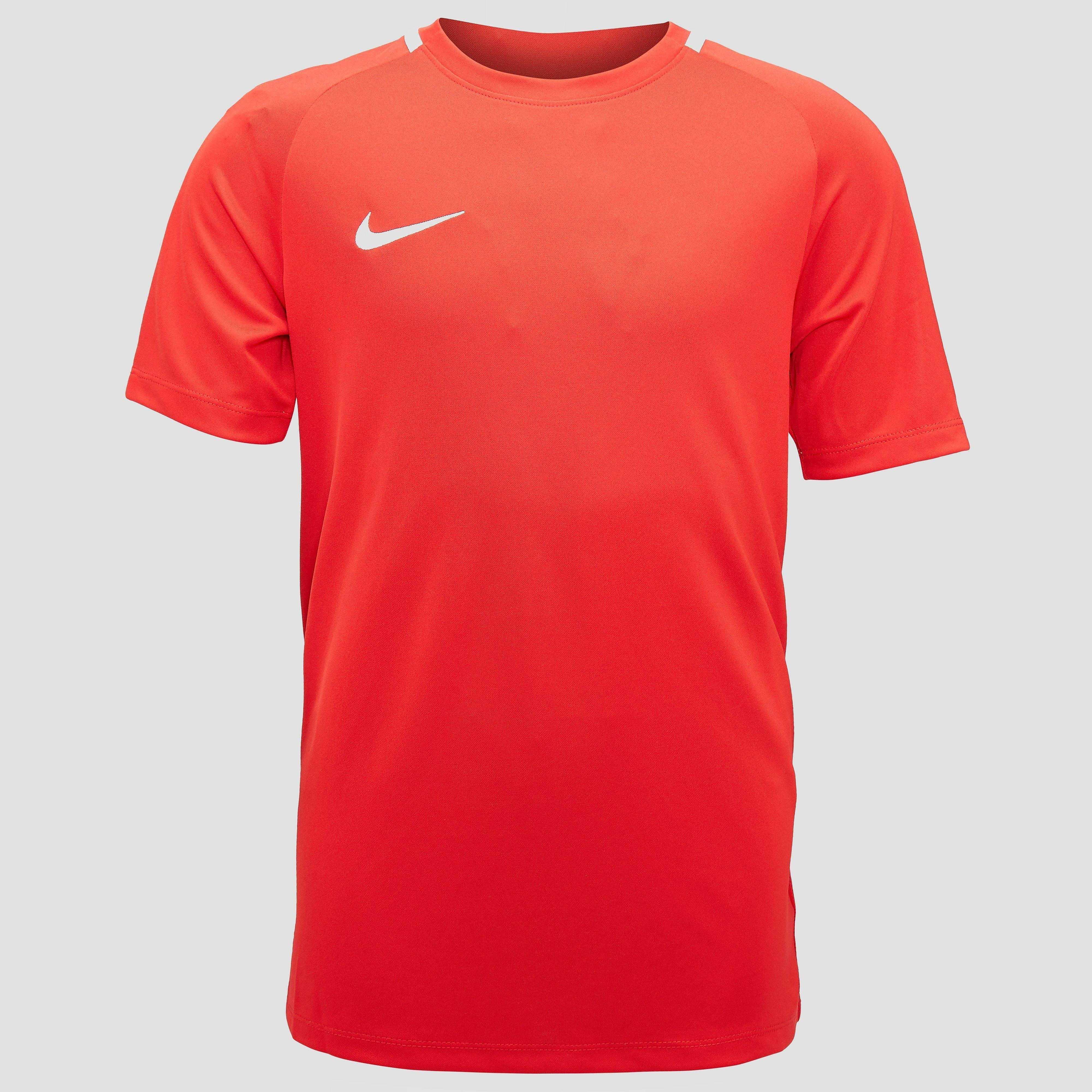 NIKE DRY ACADEMY VOETBALSHIRT WIT KINDEREN