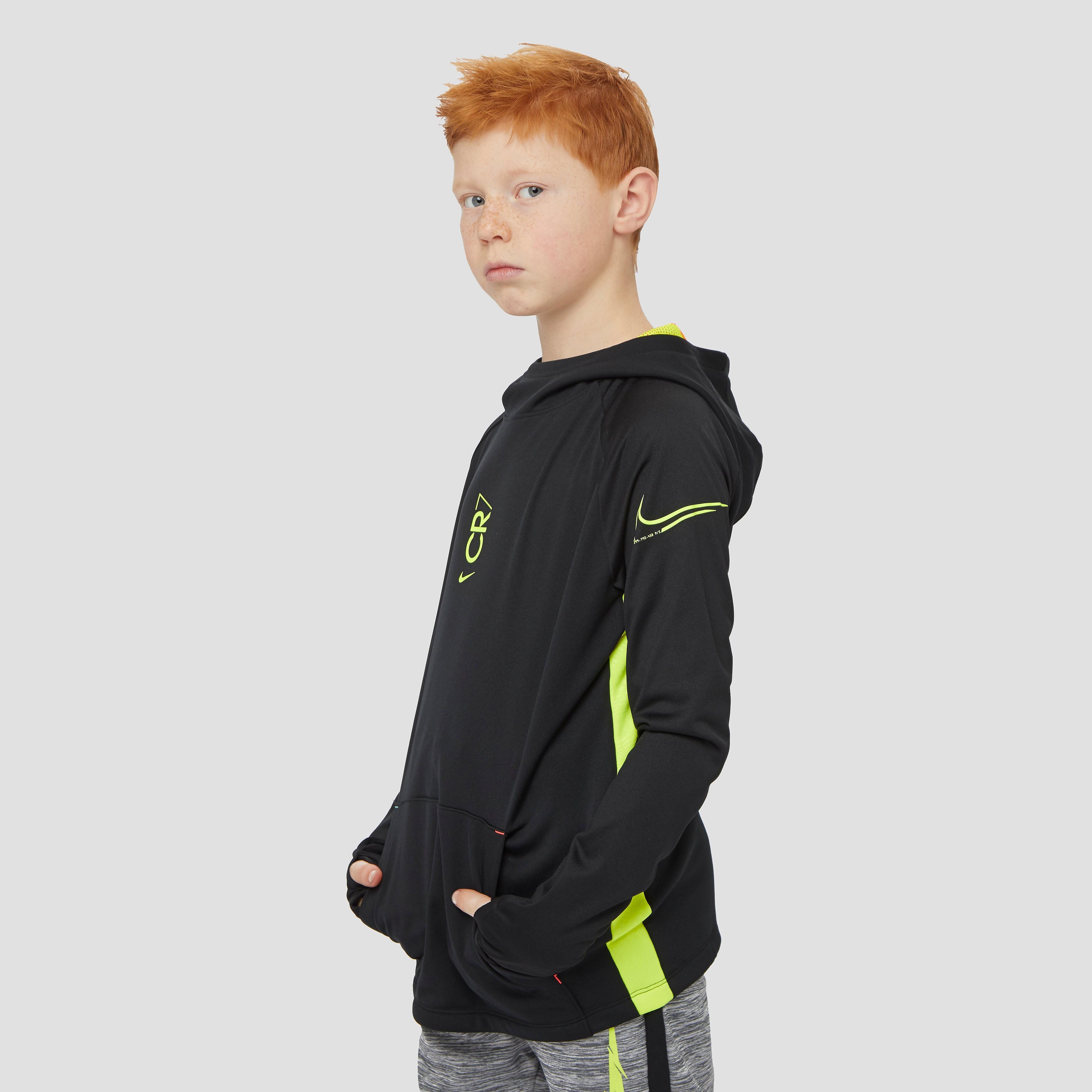 NIKE Cr7 dri-fit voetbaltrui zwart/geel kinderen Kinderen