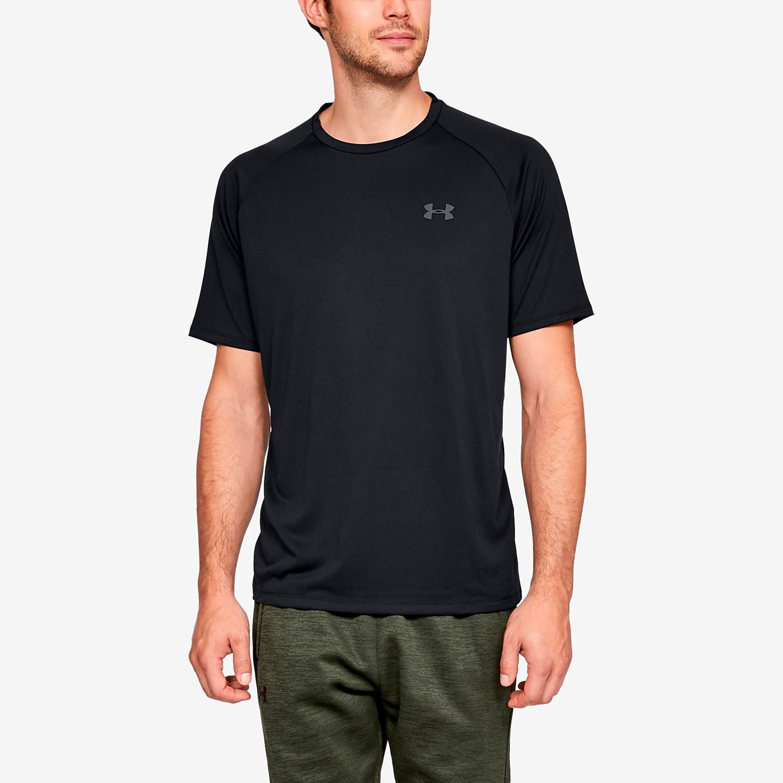 UNDER ARMOUR Tech 2.0 sportshirt zwart heren Heren