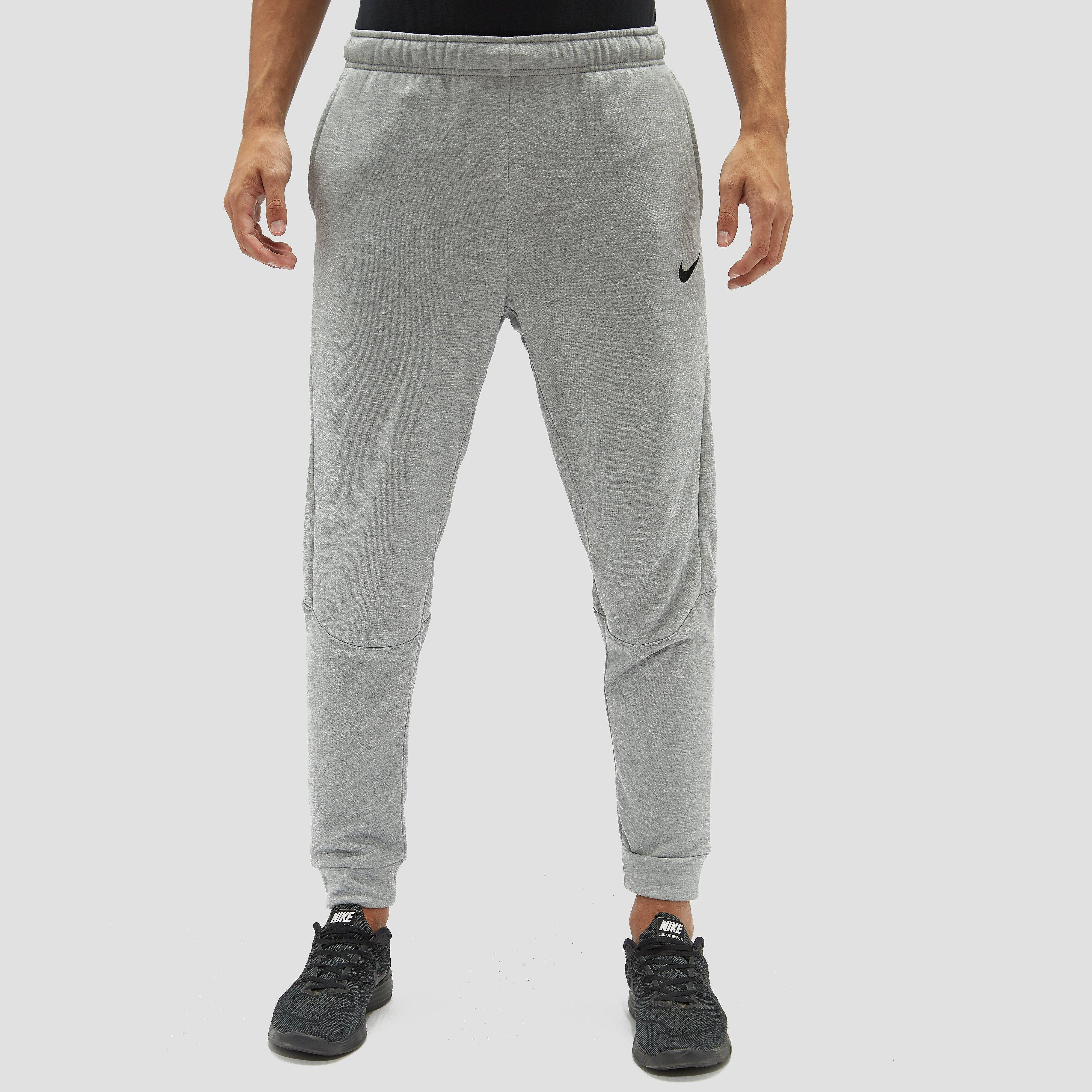 NIKE DRY TAPER FLEECE JOGGINGBROEK GRIJS HEREN