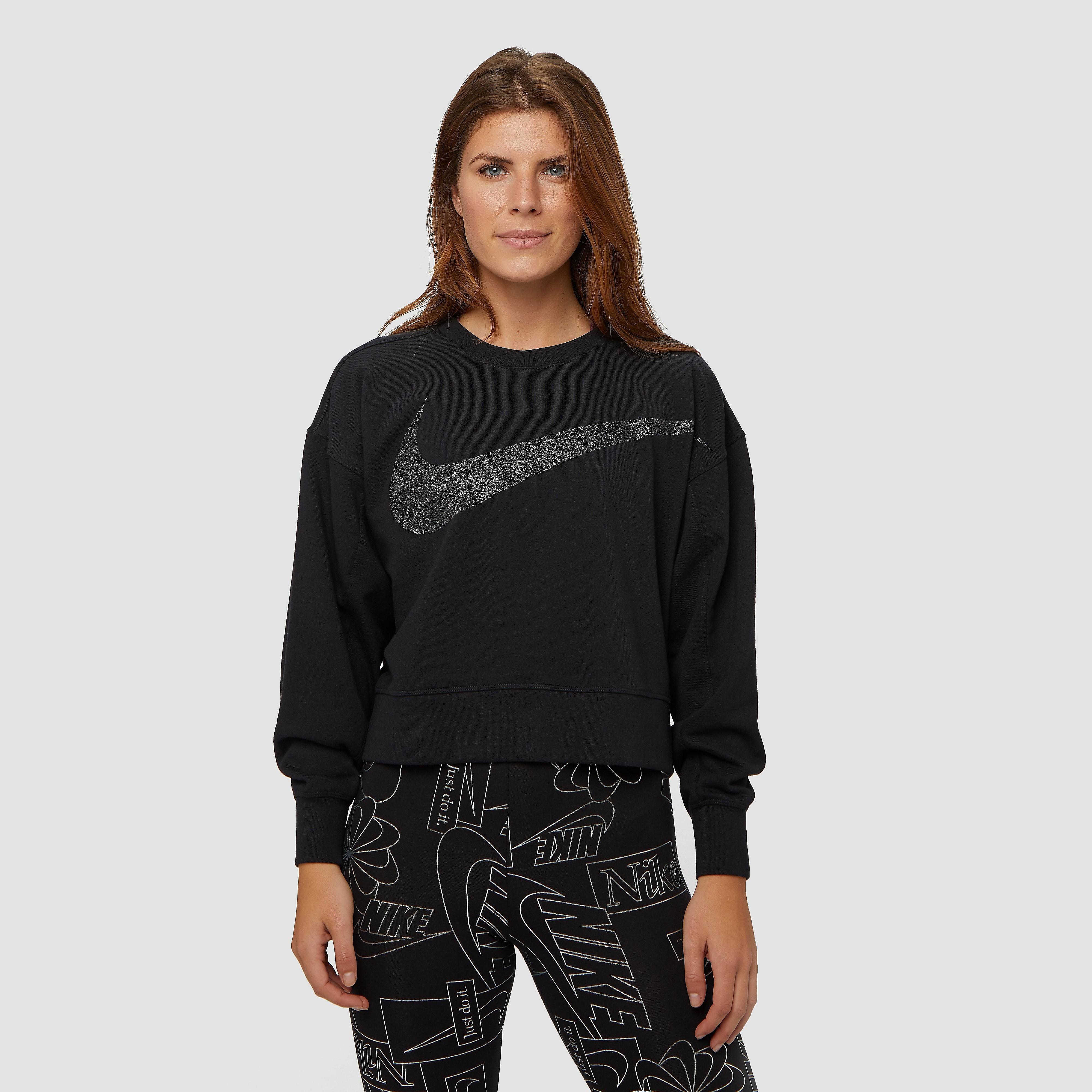 NIKE Dy get fit sparkle fleece sportsweater zwart dames Dames