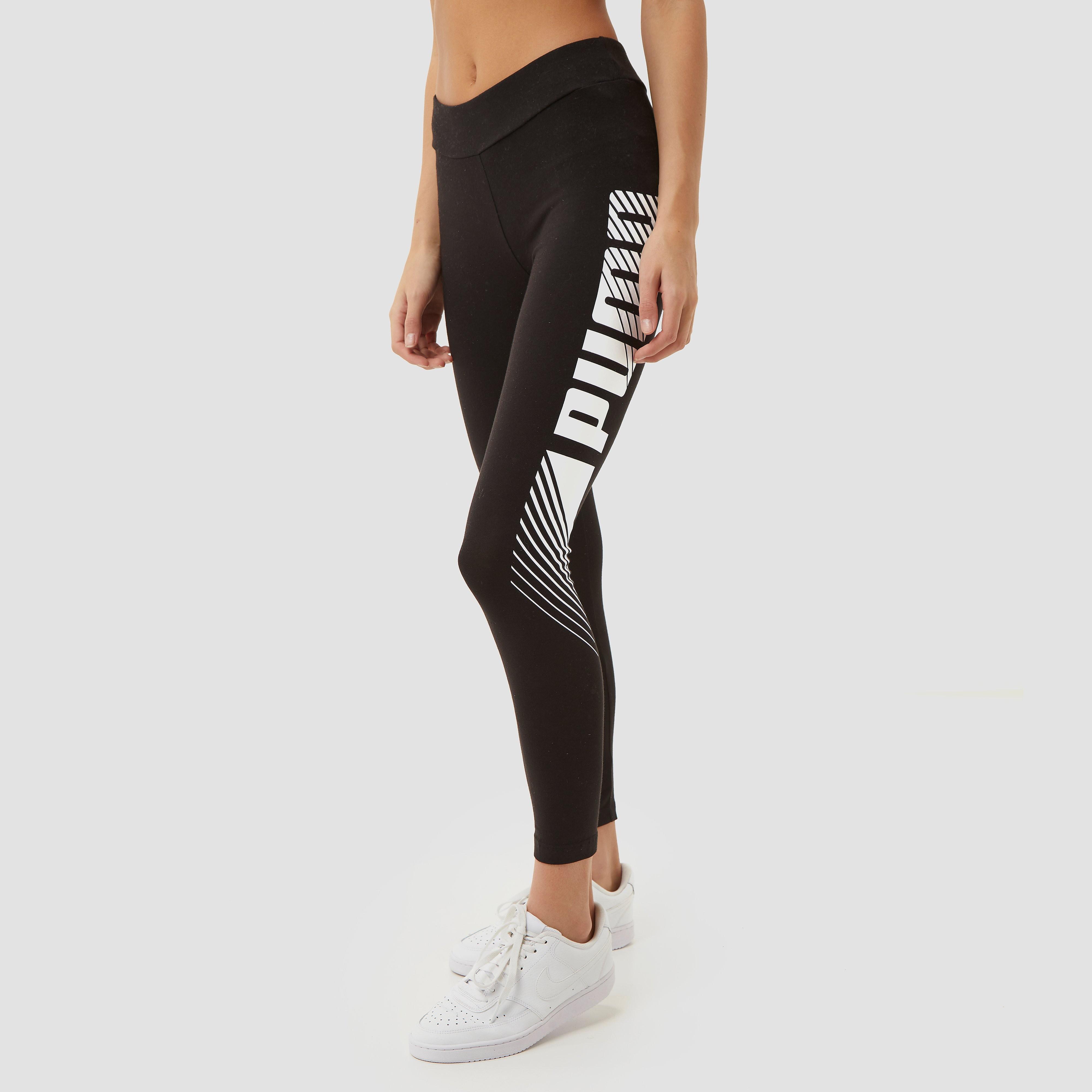 Puma Puma essentials graphic sporttight zwart dames dames