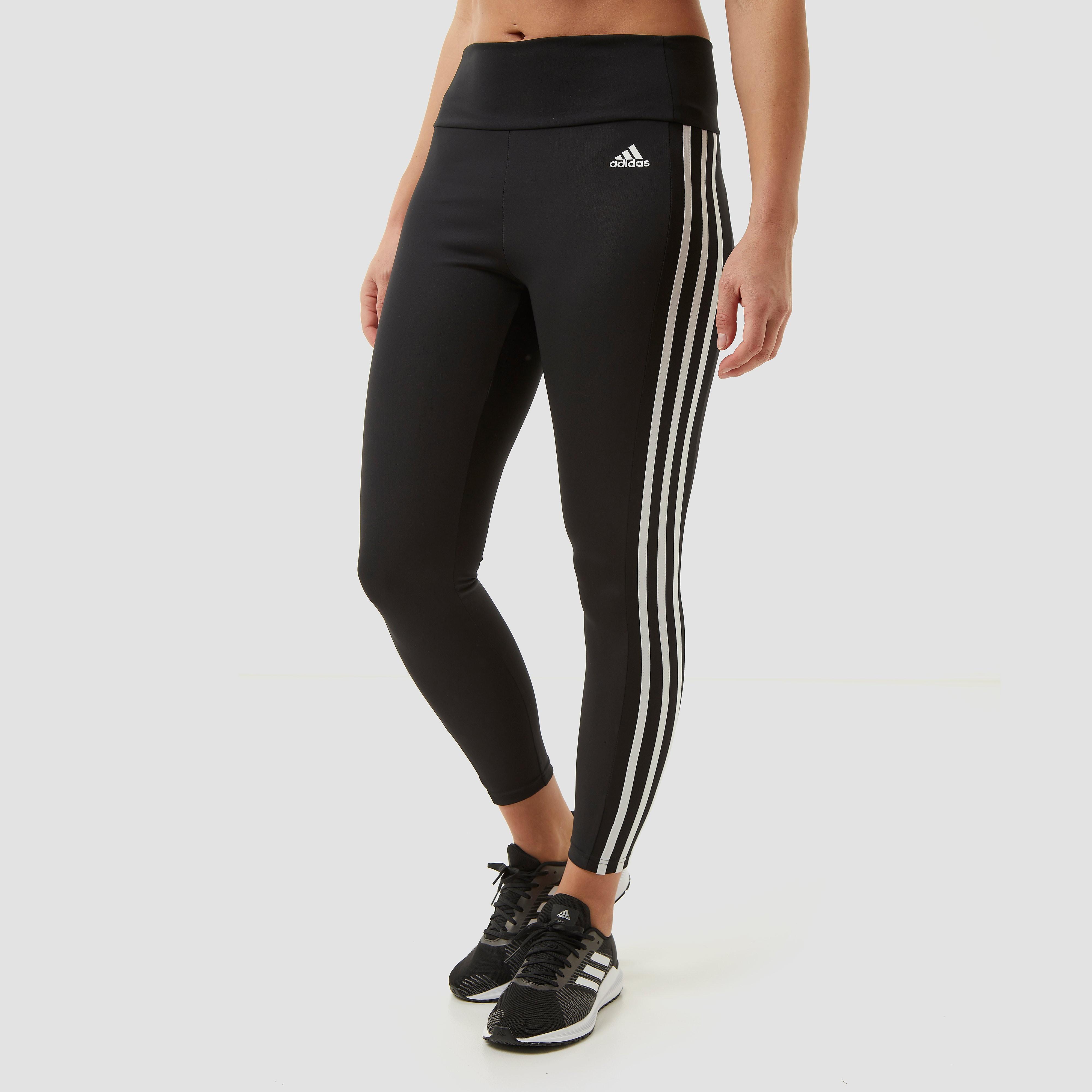 adidas Adidas 3-stripes 7/8 sporttight zwart dames dames