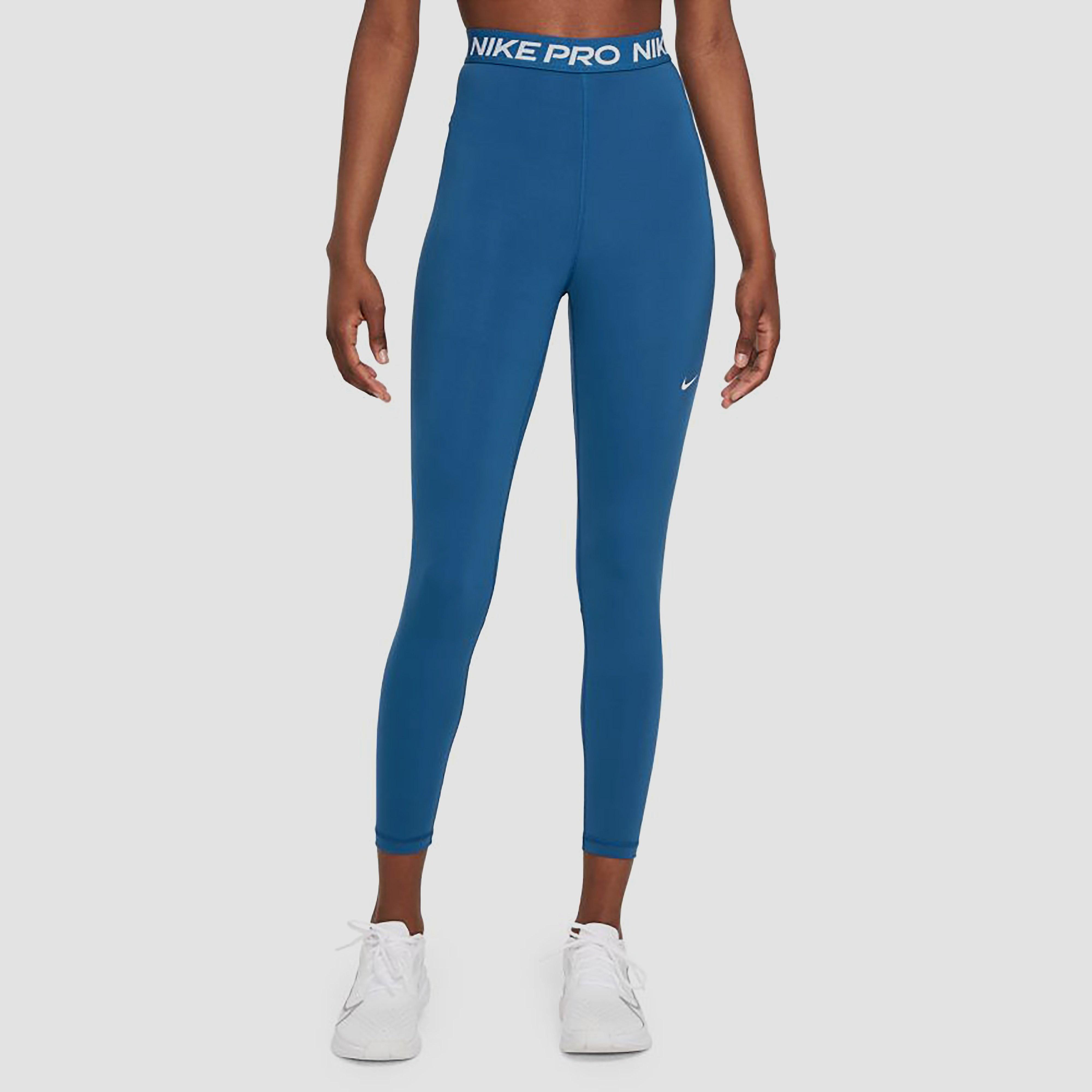 Nike Nike pro 365 high rise 7/8 sporttight blauw dames dames