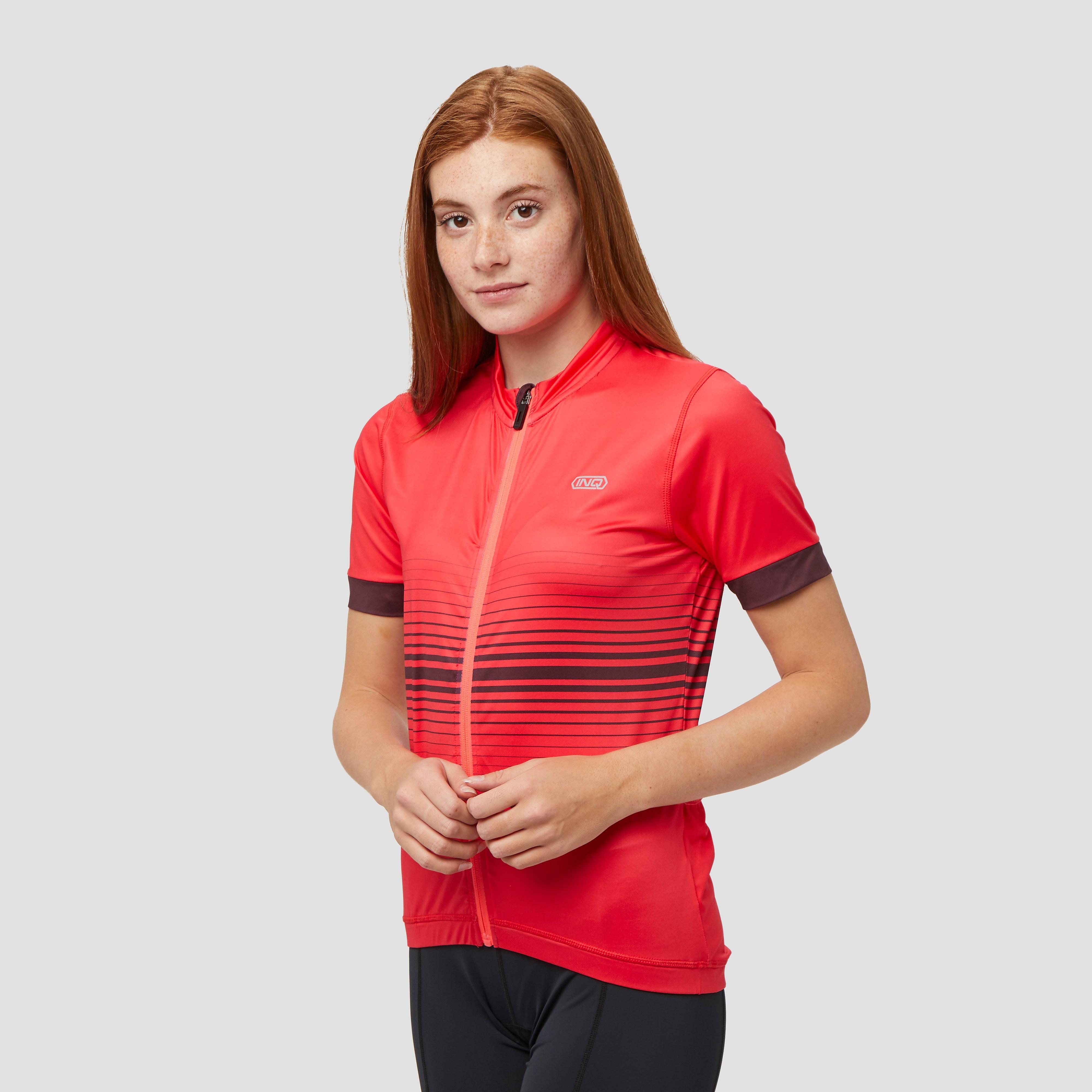 INQ Casette fietsshirt roze dames Dames