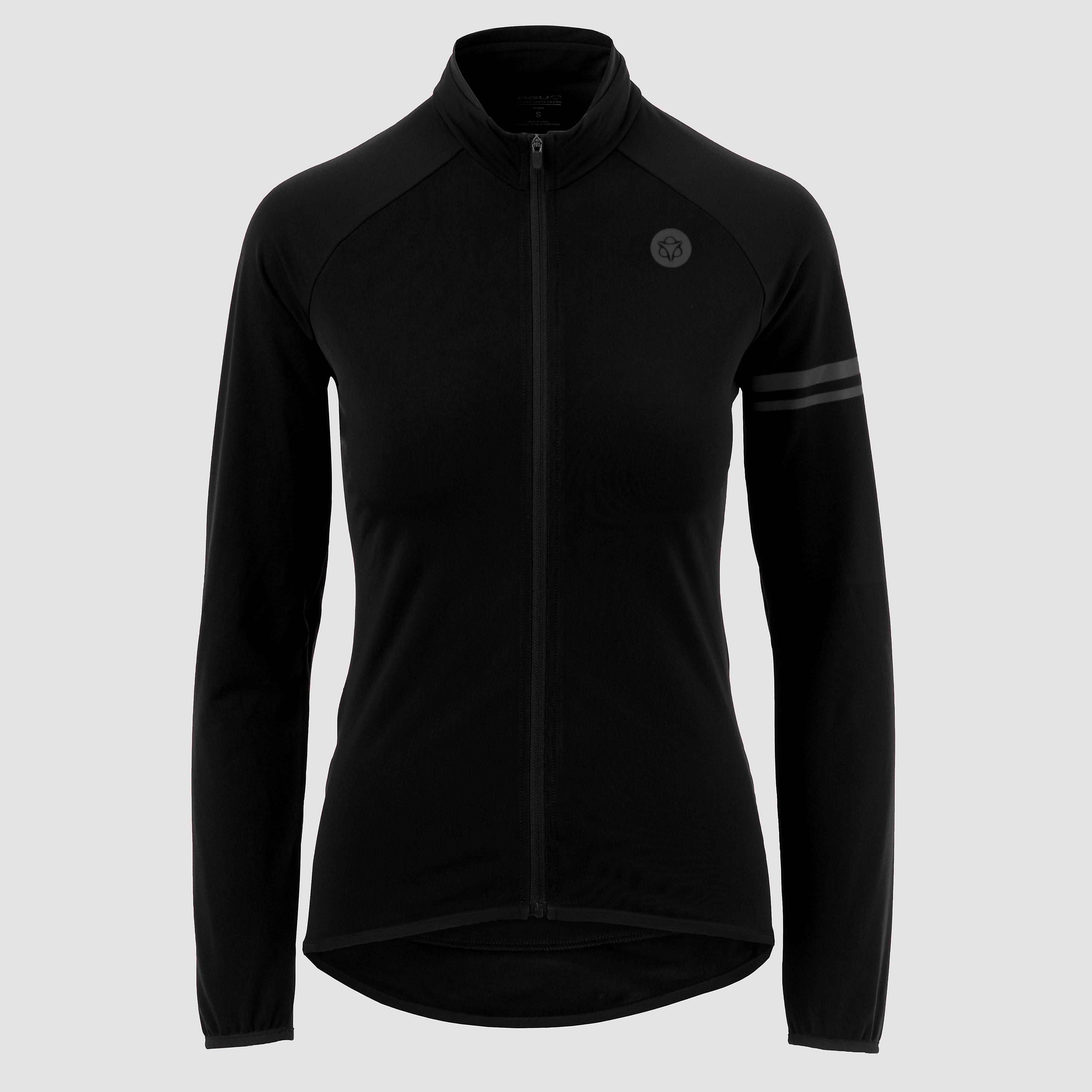 AGU Thermo jersey essential fietsshirt zwart dames Dames
