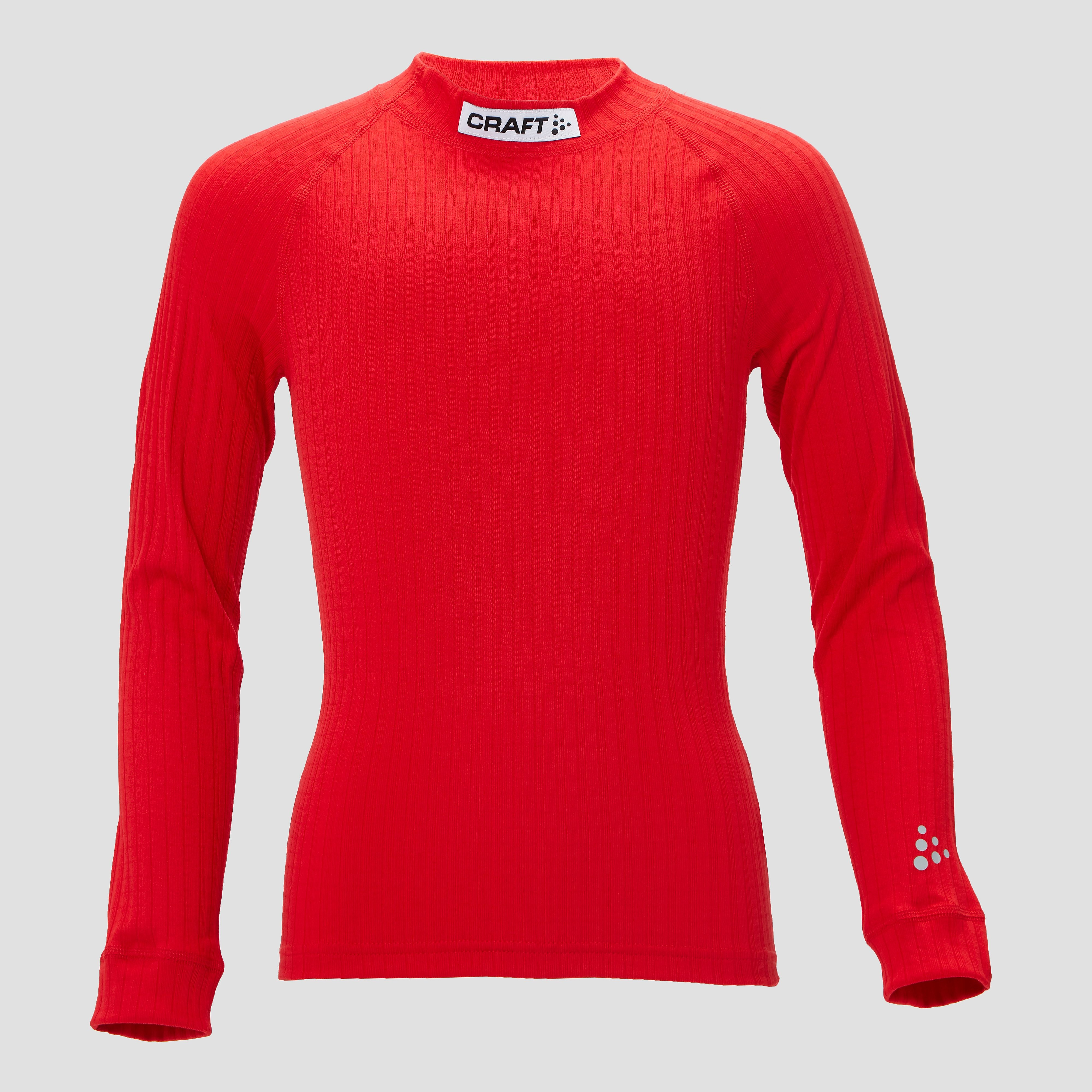 CRAFT Prog baselayer thermoshirt rood kinderen Kinderen