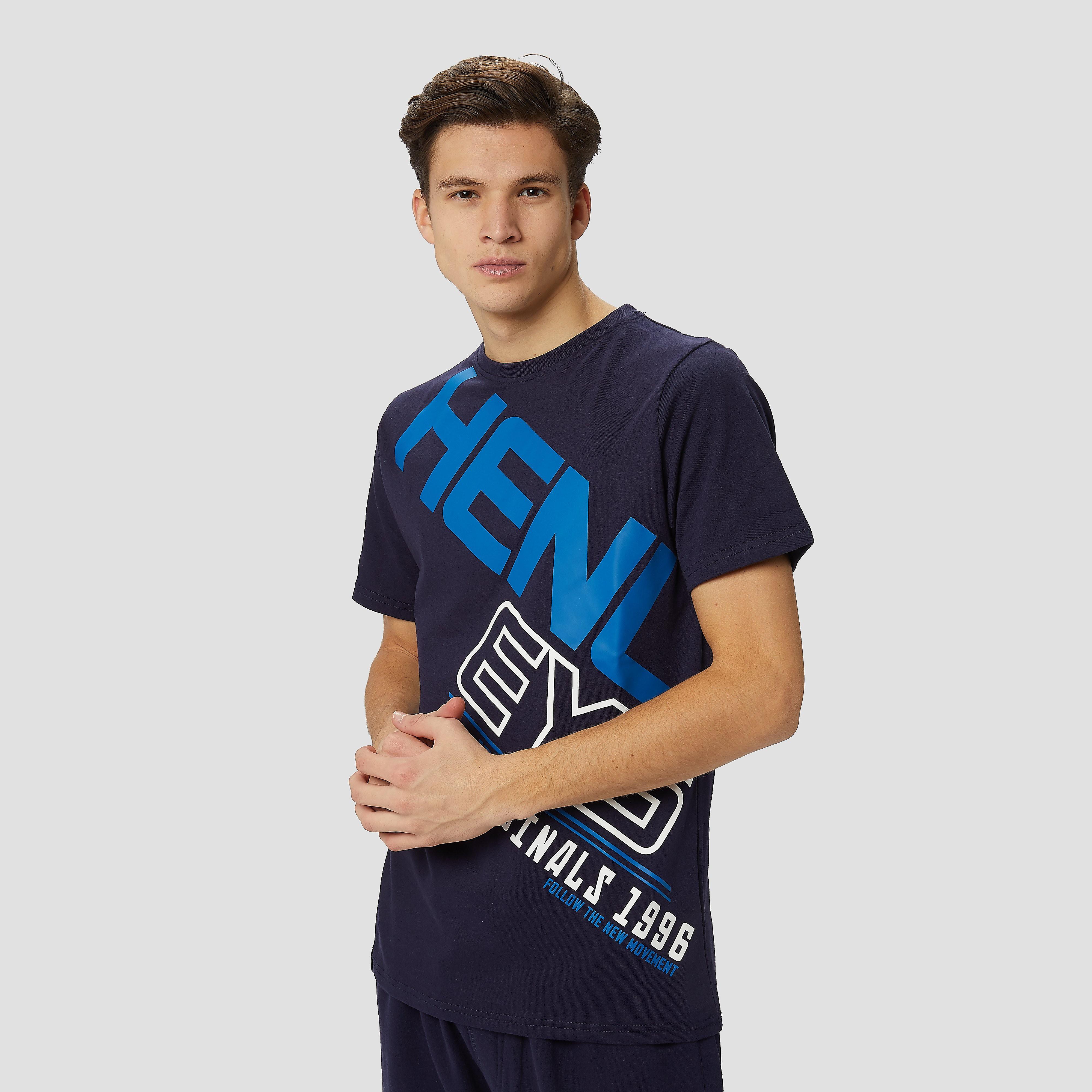 HENLEYS Ergo shirt blauw heren Heren