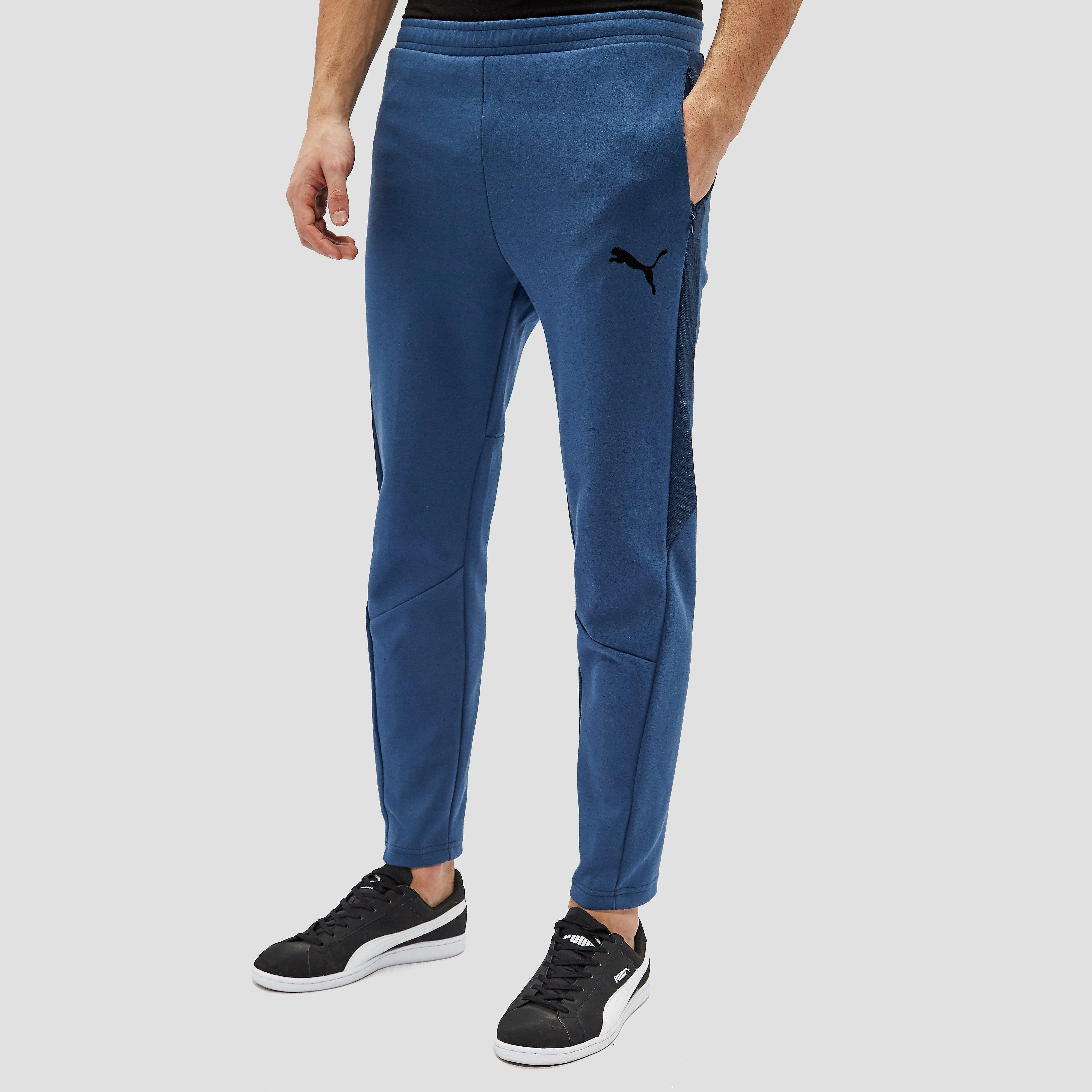 PUMA EVOSTRIPE MOVE JOGGINGBROEK BLAUW/WIT HEREN