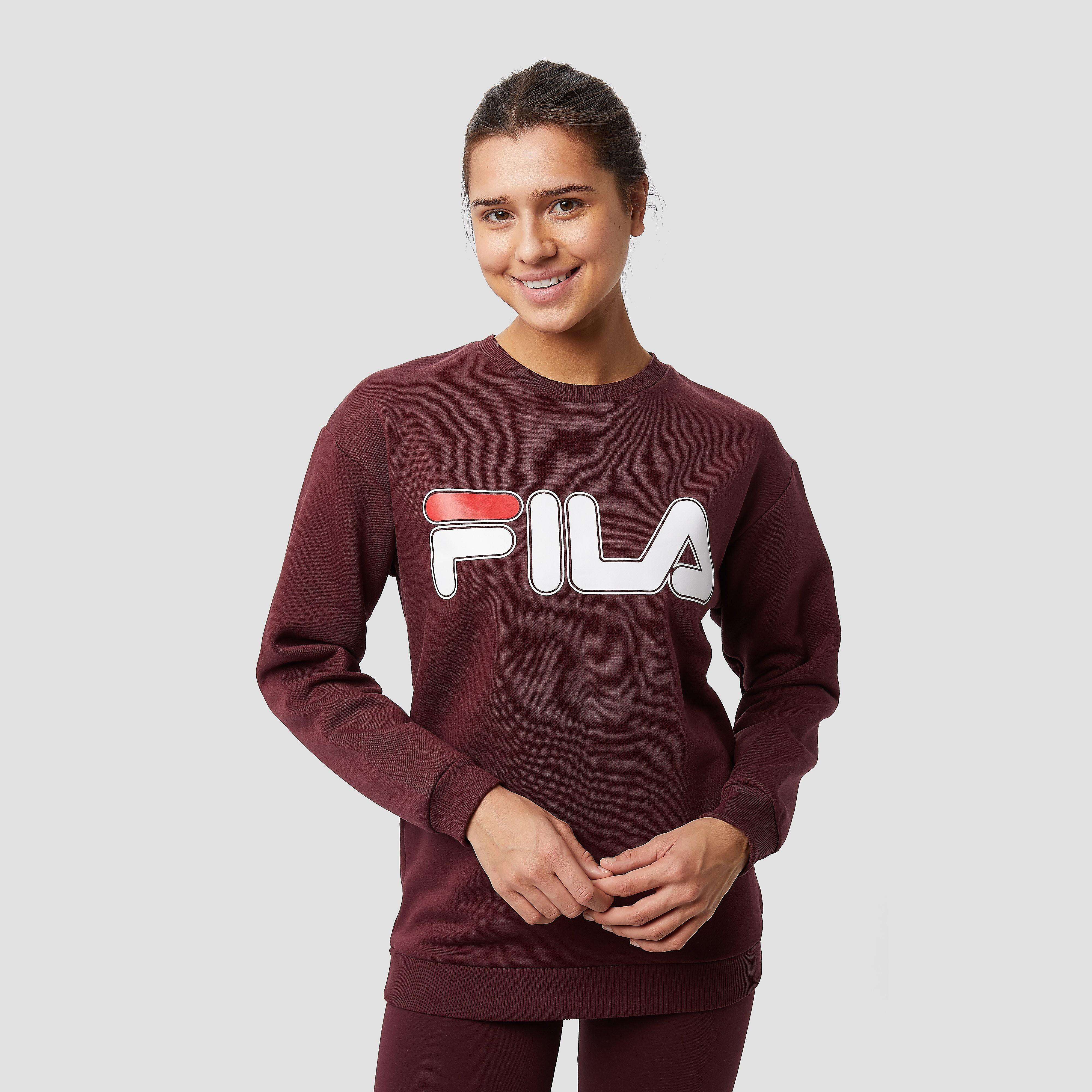 FILA Cydonia 2 crew sweater bordeaux rood dames Dames