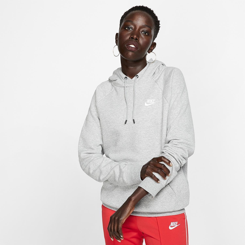 NIKE Sportswear essentials trui grijs dames Dames