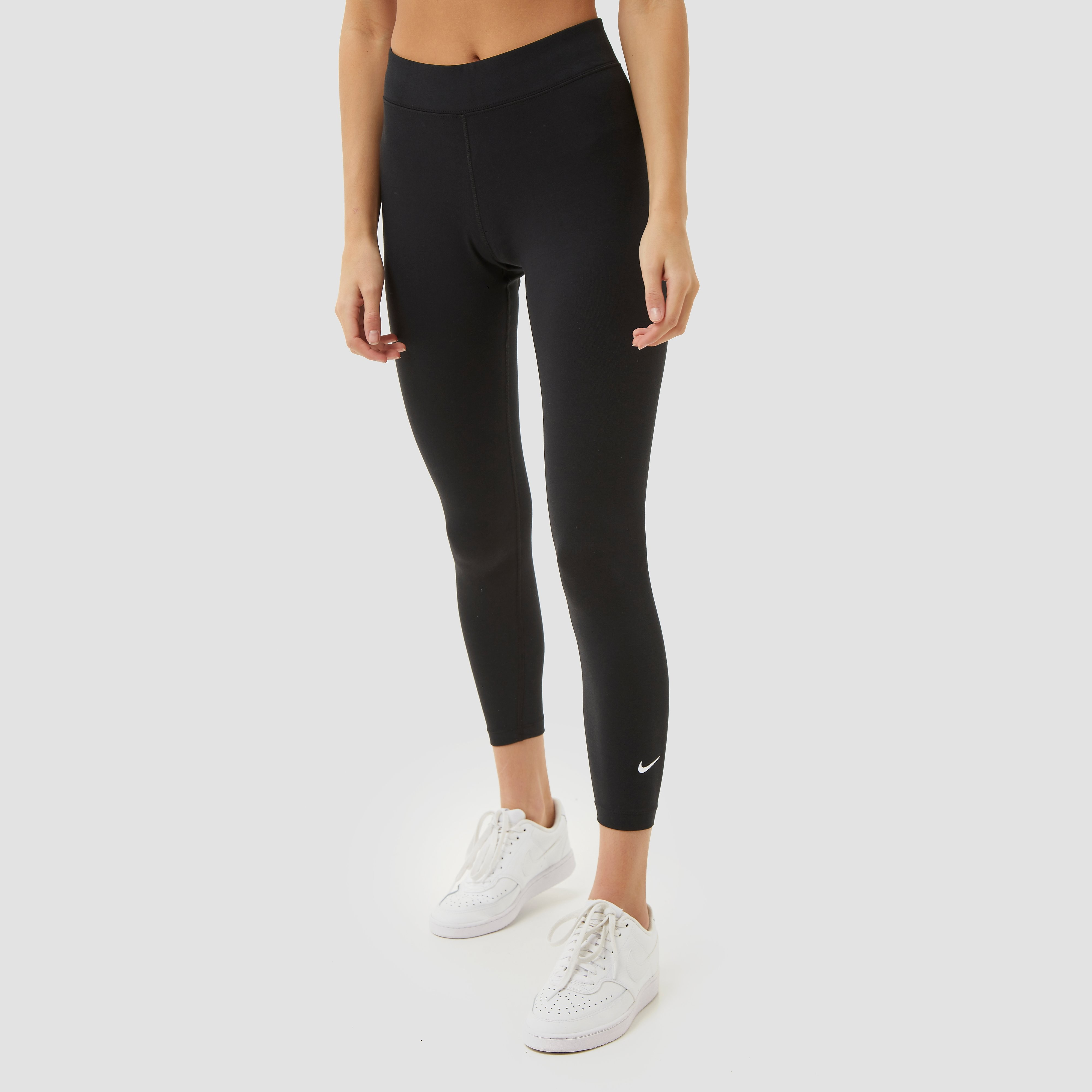 Nike Nike sportswear essential 7/8 mid-rise tight zwart dames dames