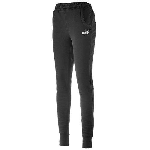 PUMA SMALL LOGO JOGGINGBROEK ZWART DAMES