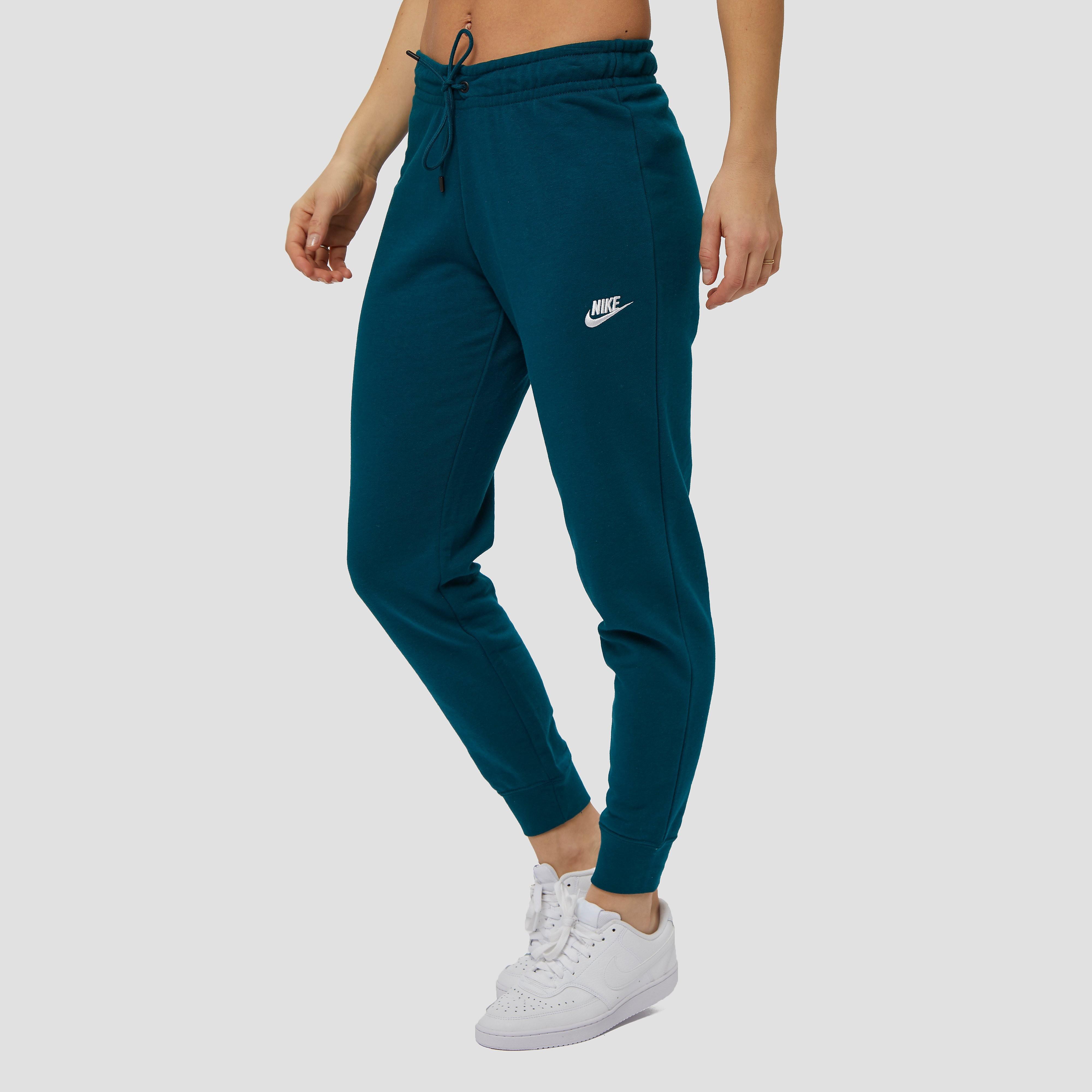 NIKE Essentials fleece tight joggingbroek turquoise/blauw dames Dames